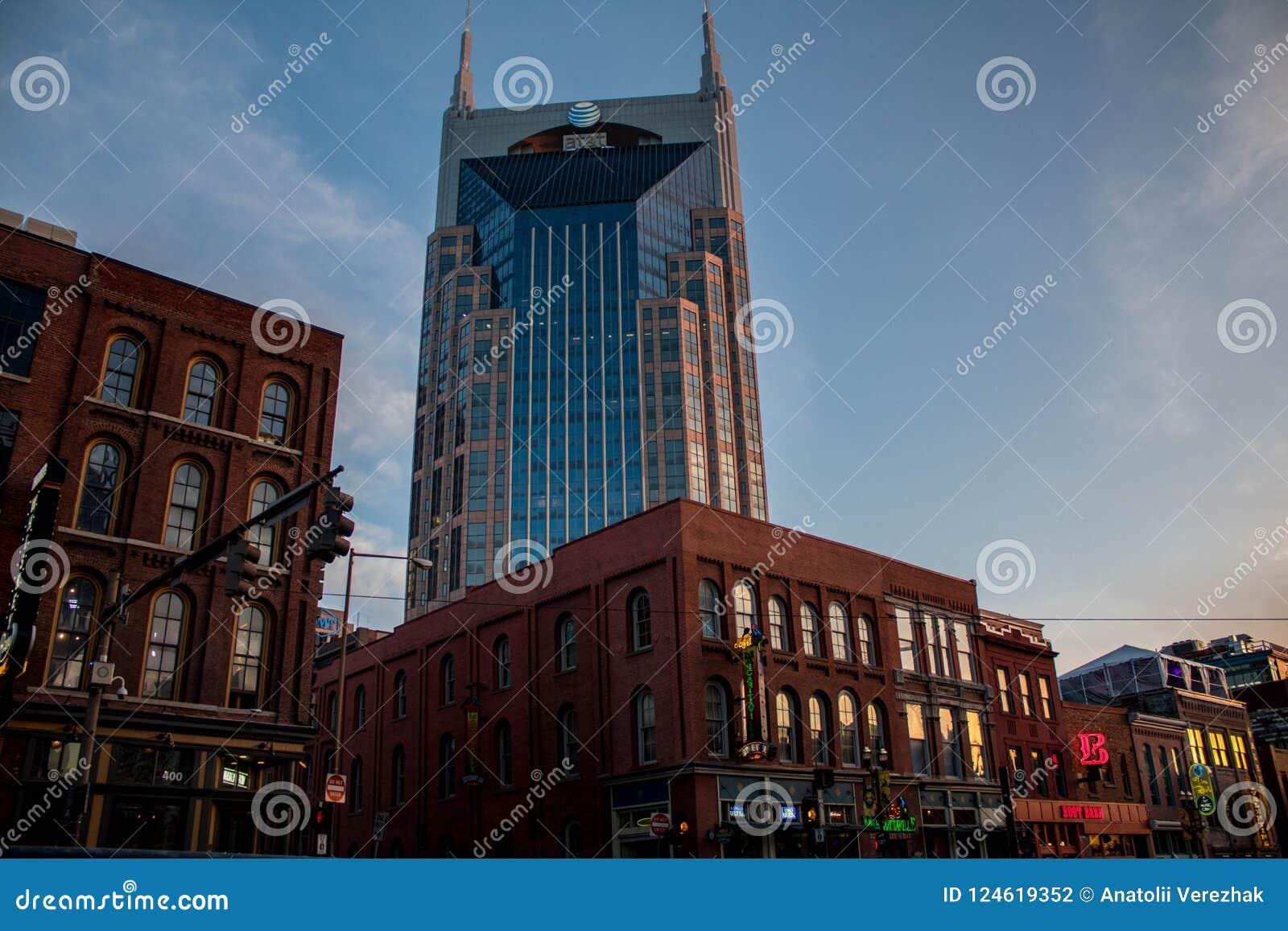 Torre Nashville del centro, TN 03/30/2018 di AT&T