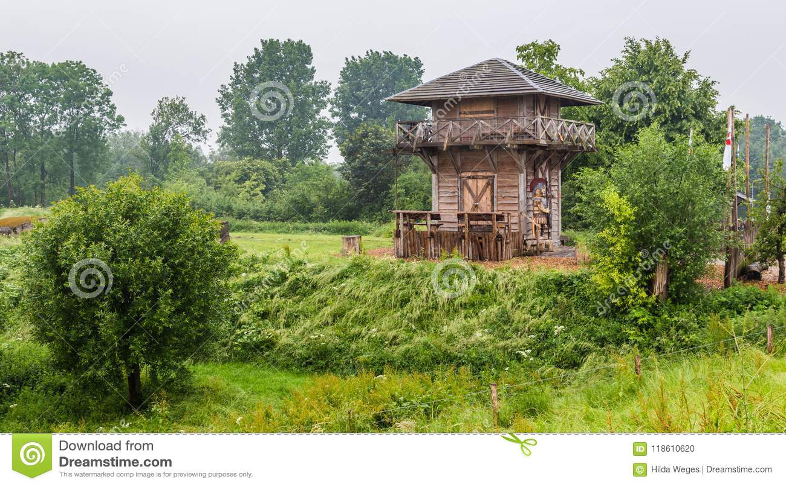 Torre romana Países Baixos do relógio