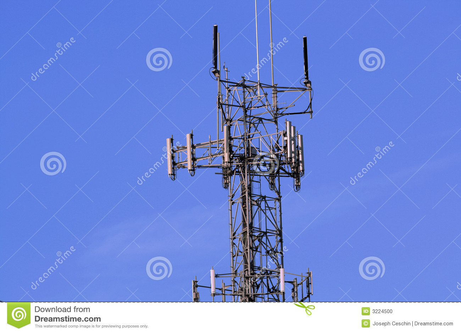 Torre sem fio do relé