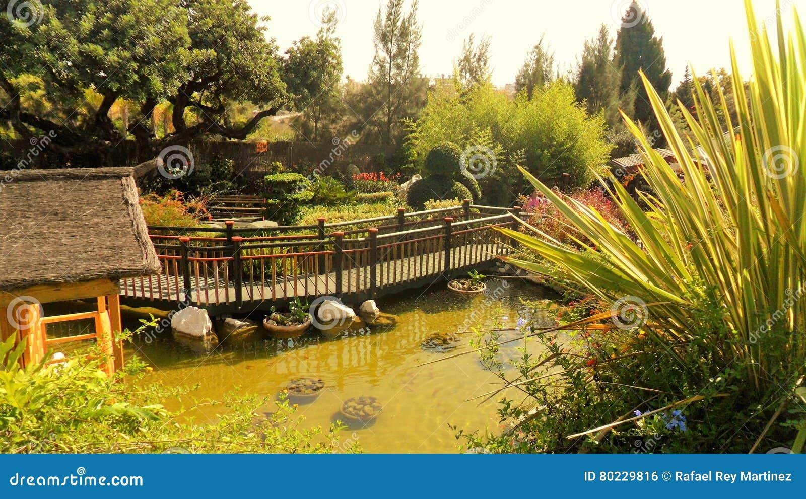 Torremolinos-Botanic Gardens-MOLINO DEL INCA- Stock Photo - Image of ...