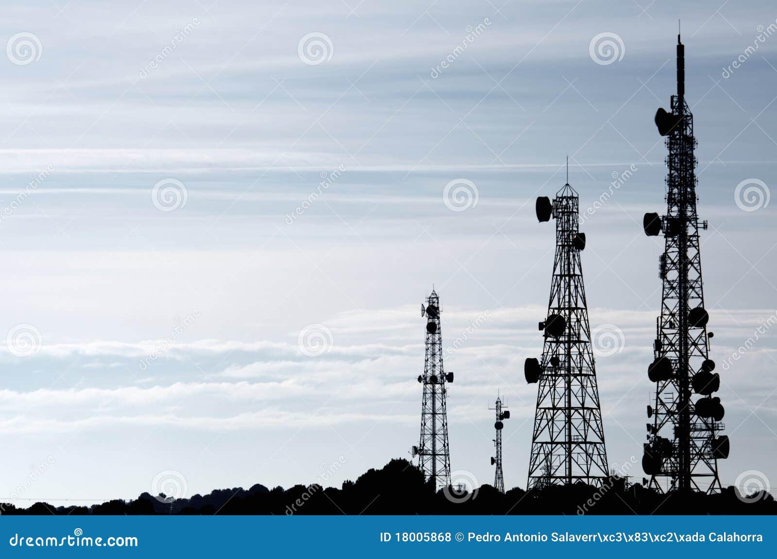 Torres das telecomunicações