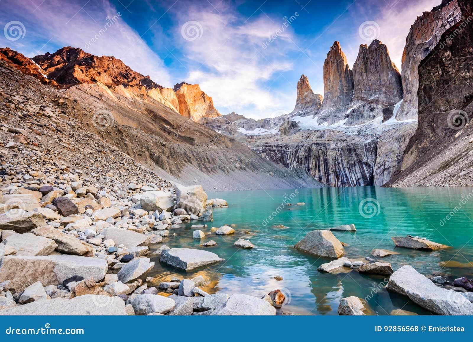 Torres de patagonia du Chili del paine