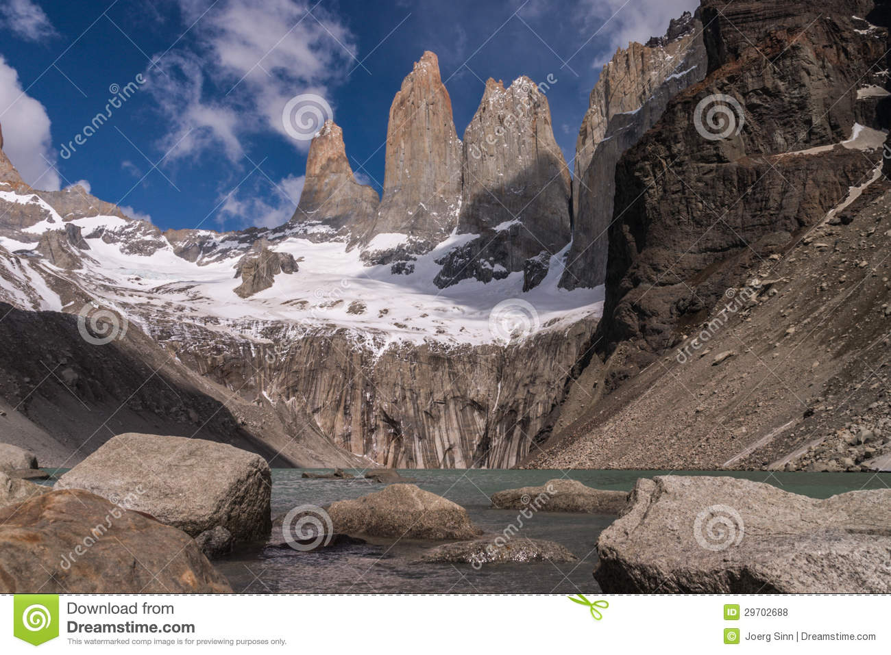 Torres del paine Towers
