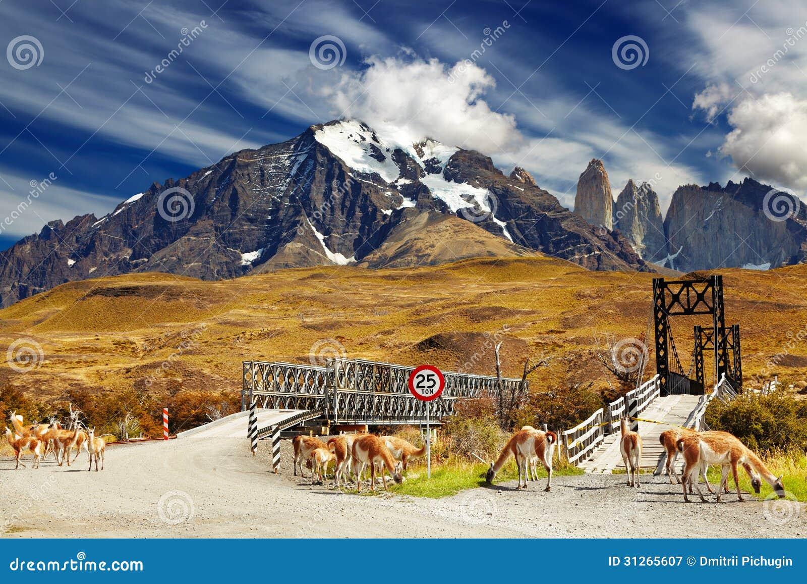 Torres del Paine nationalpark, Chile
