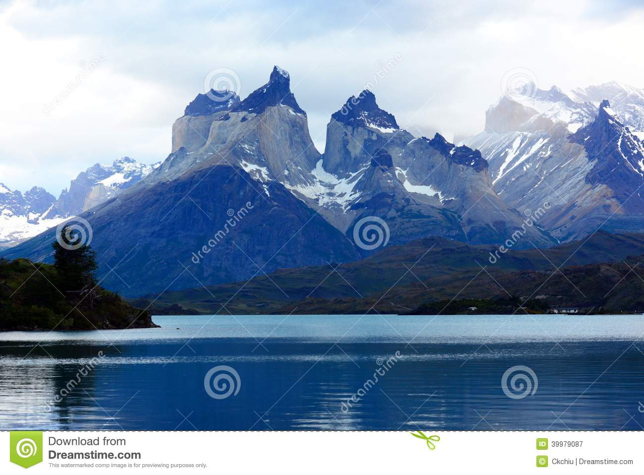 Torres del Paine nationalpark, Patagonia, Chile