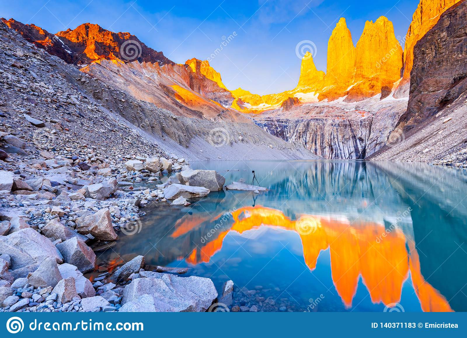 Patagonia South America >> Torres Del Paine Patagonia Chile Stock Image Image Of