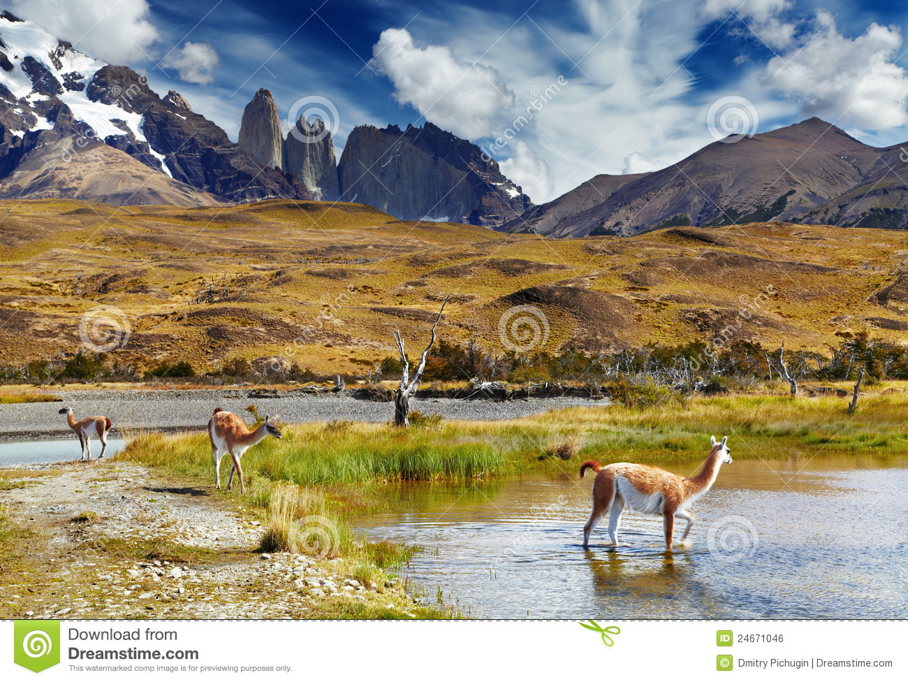 Torres del Paine, Patagonia, o Chile