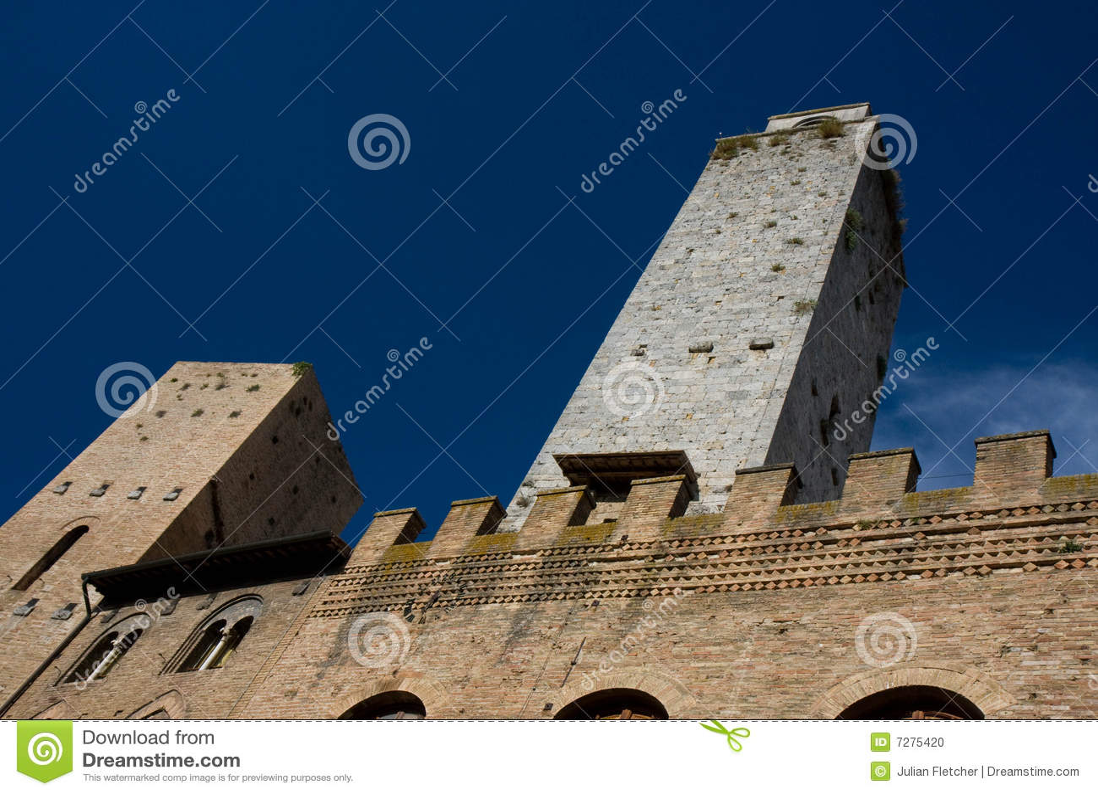 Torres en San Gimignano