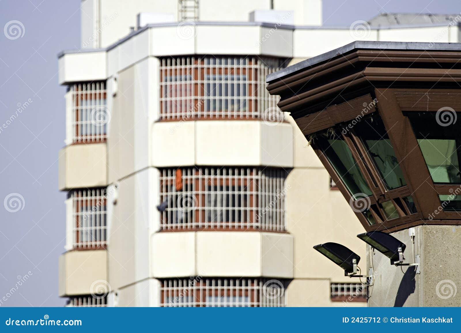 Torretta 5 della vigilanza della prigione