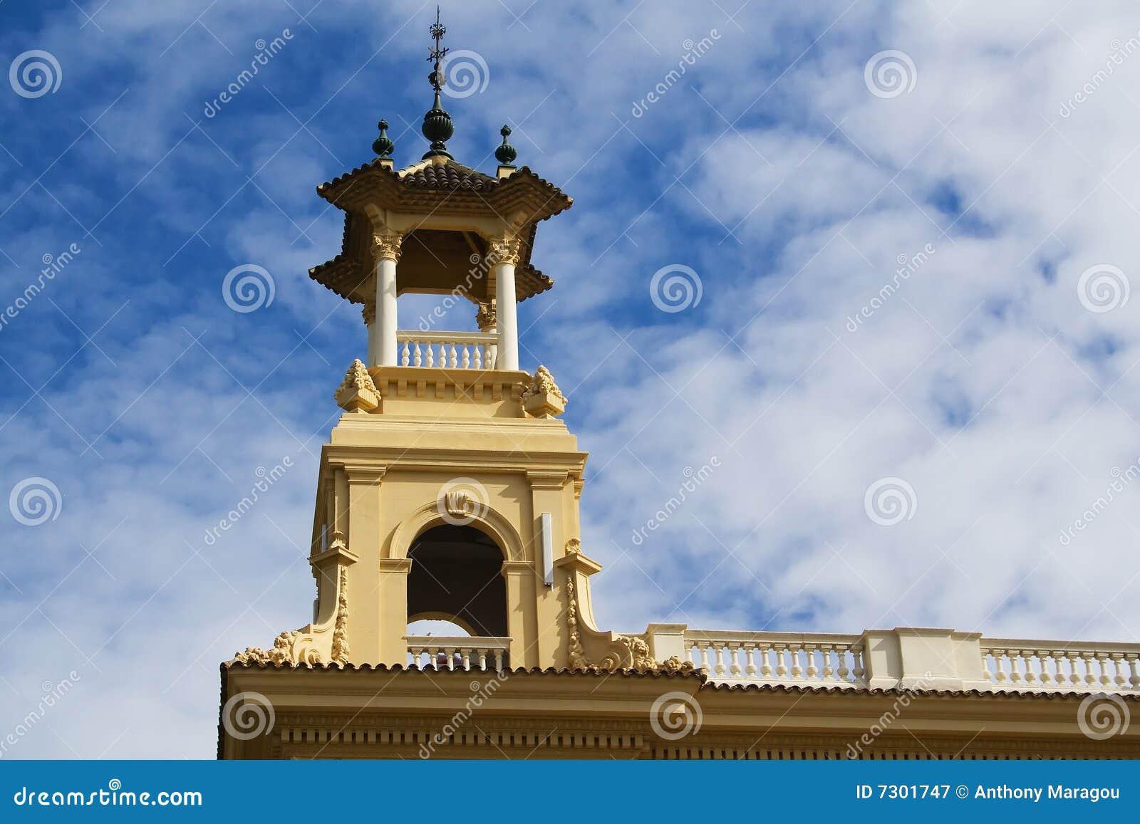 Torretta del monumento di Montjuic