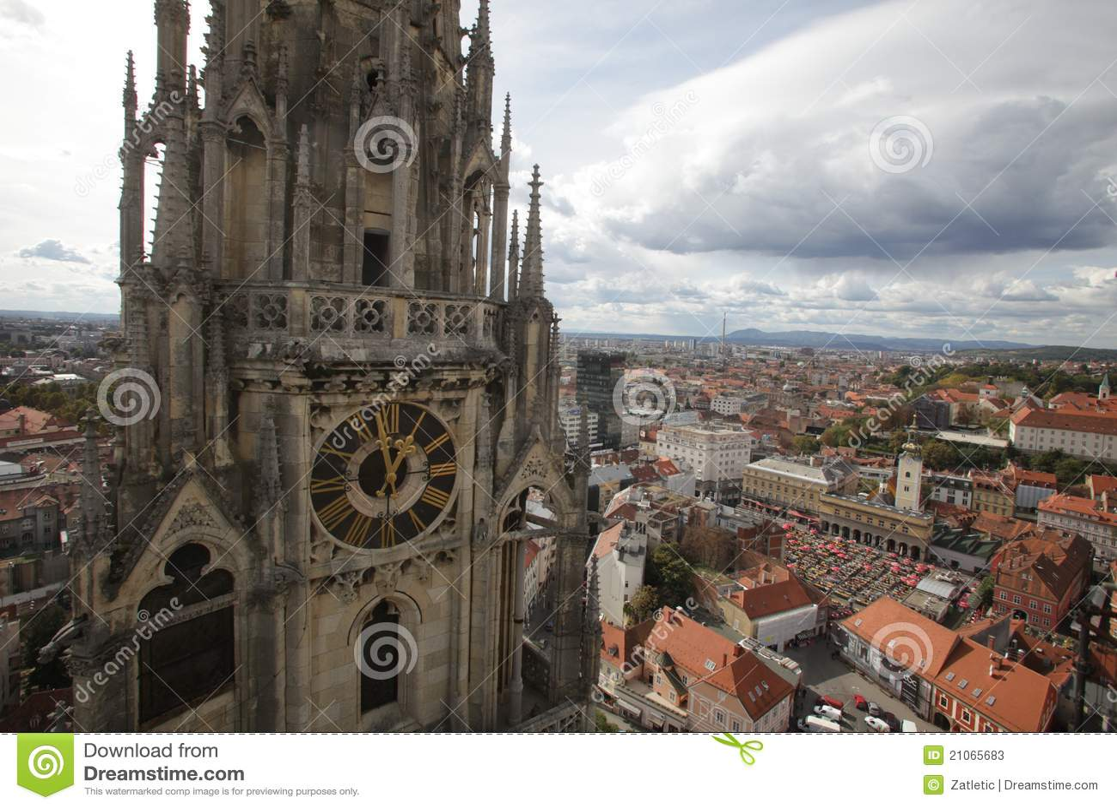 Torretta della cattedrale di Zagabria