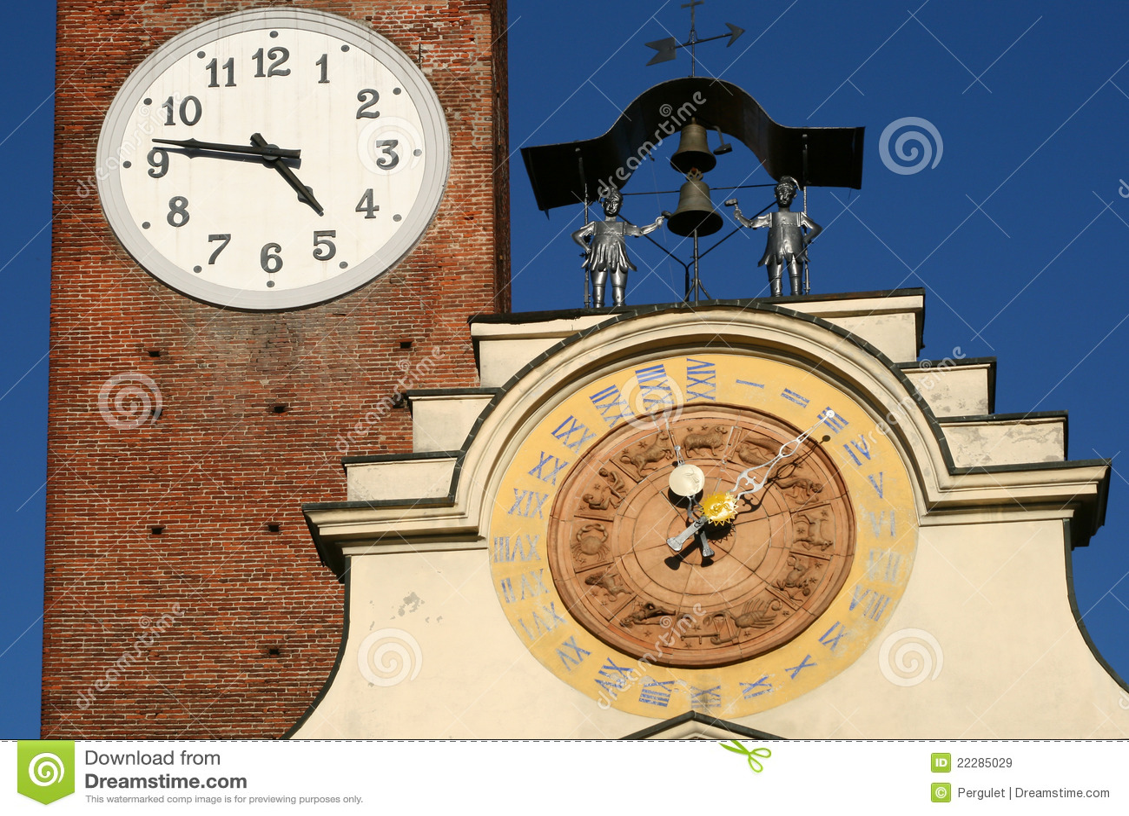 Torretta di orologio