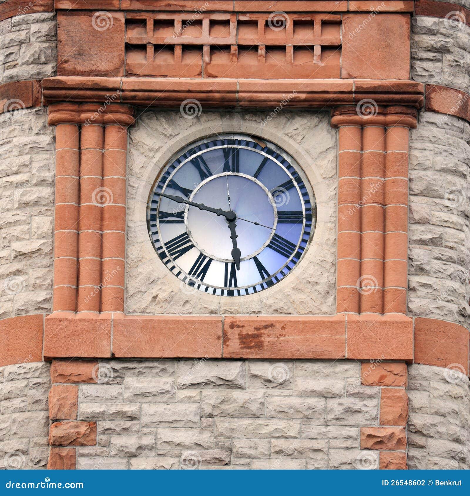 Torretta di orologio a Cheyenne