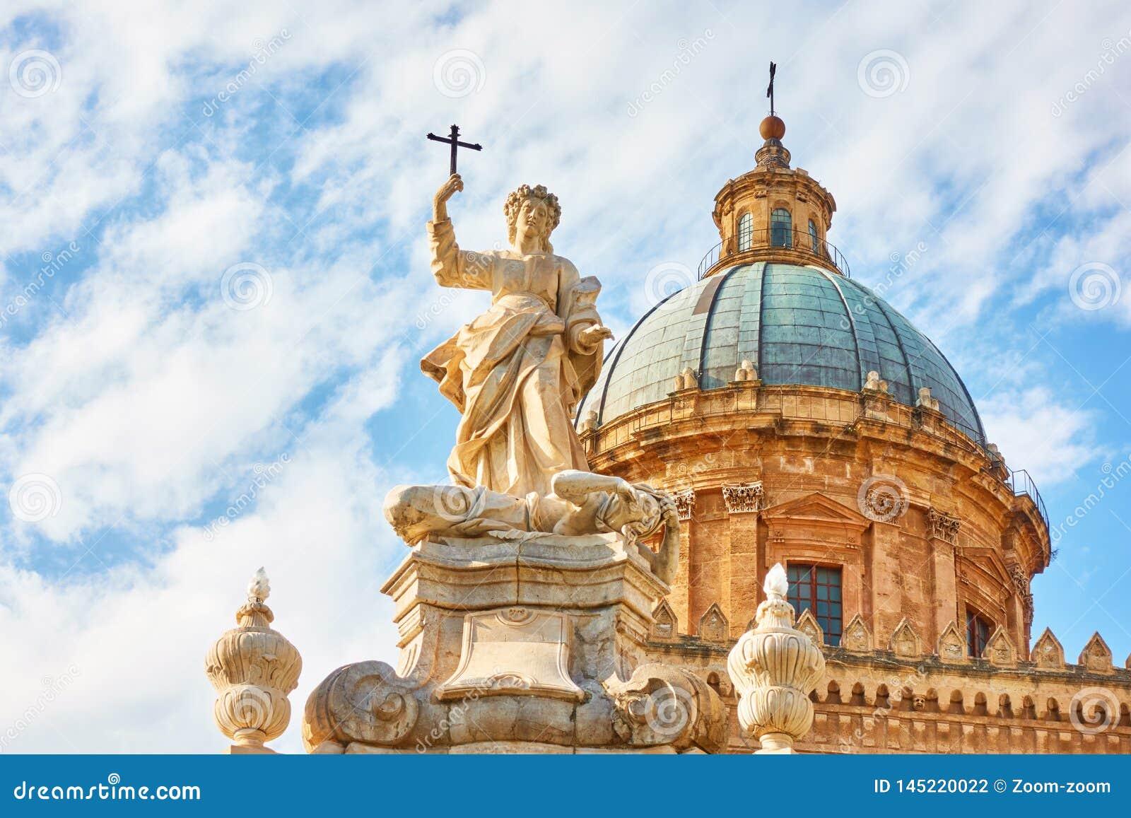 Torretta di orologio di Palermo Cathedral