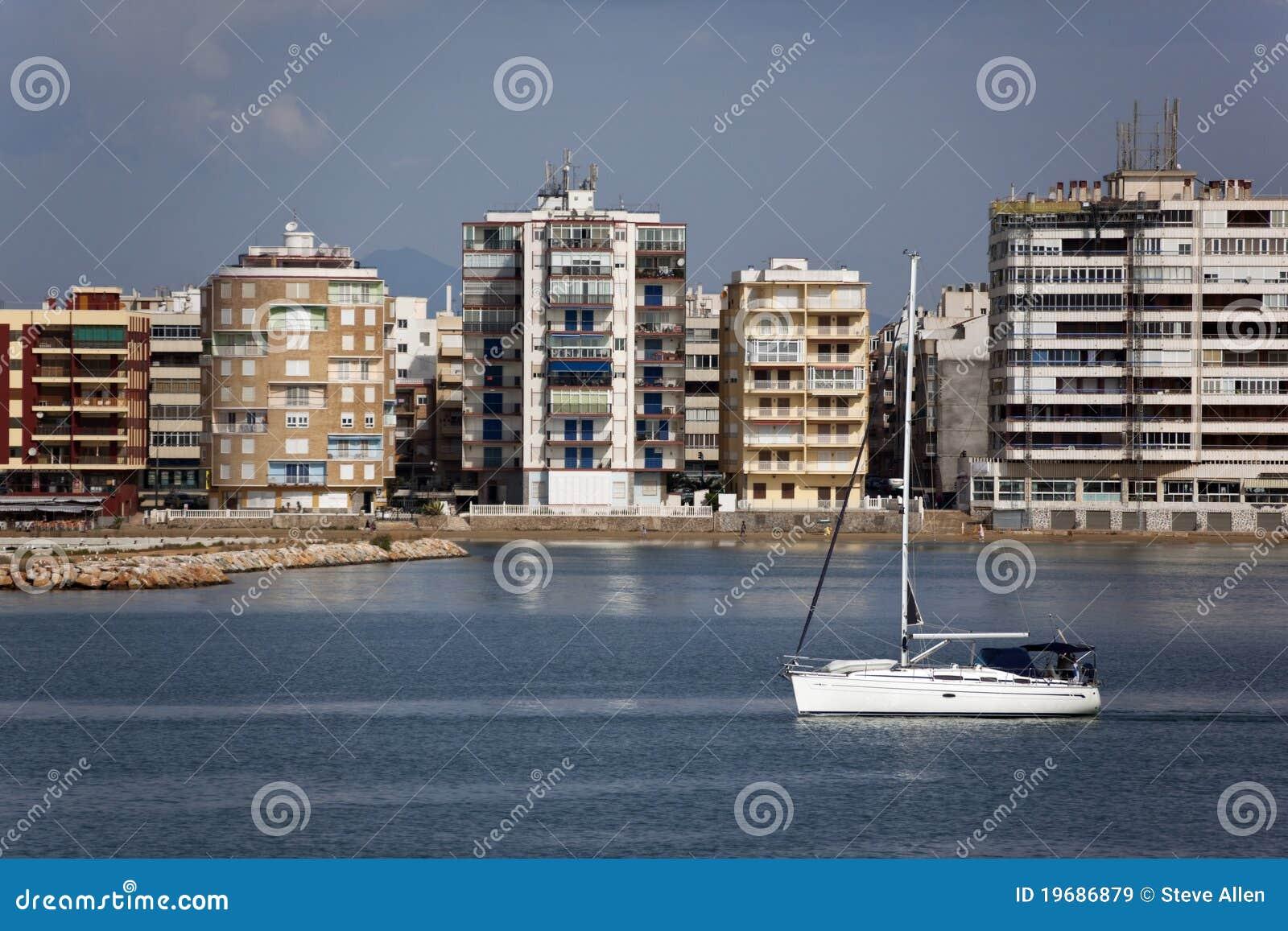 Torrevieja costa blanca spain royalty free stock - Z yachting torrevieja ...