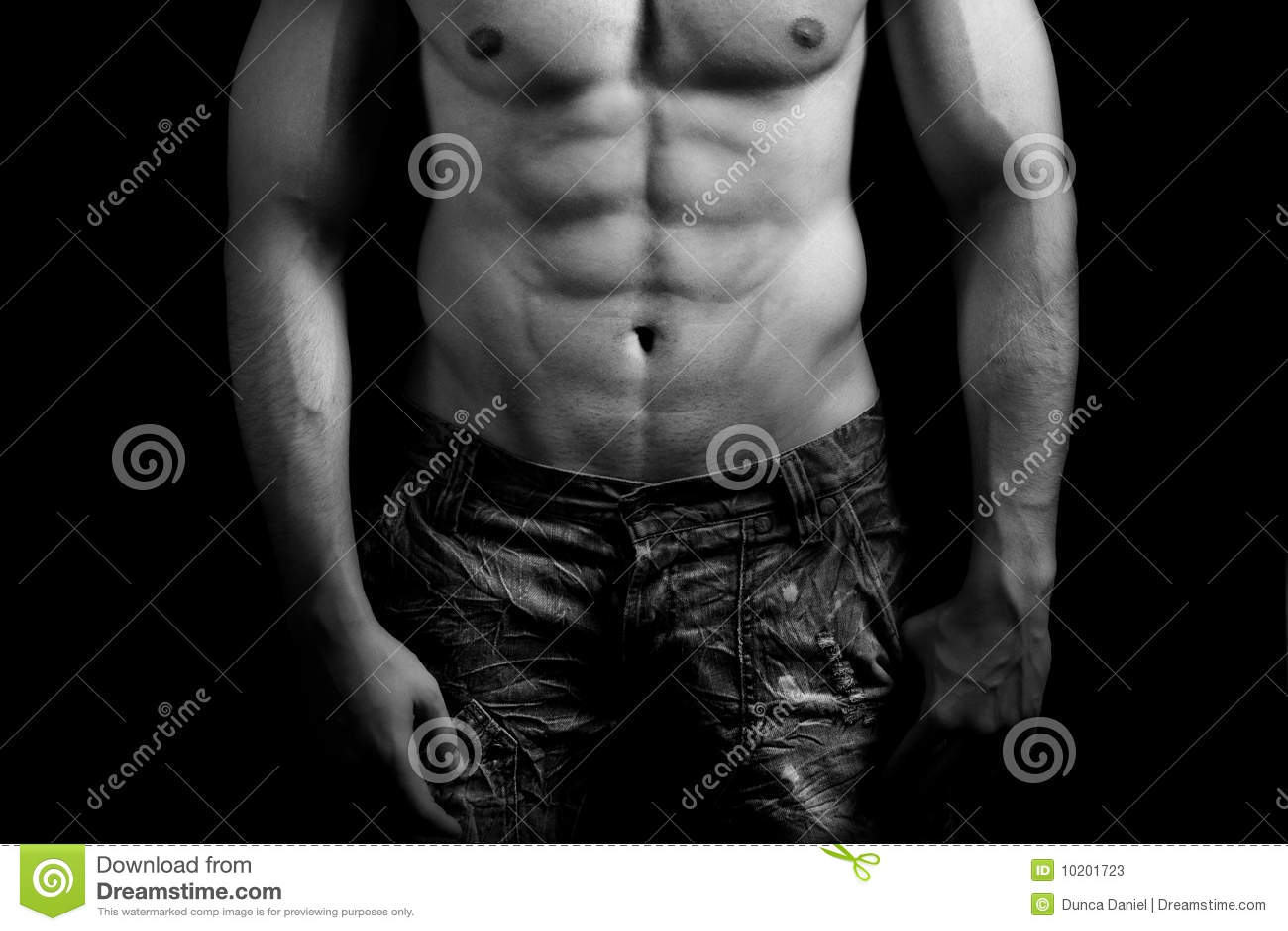 Goujon musculaire noir