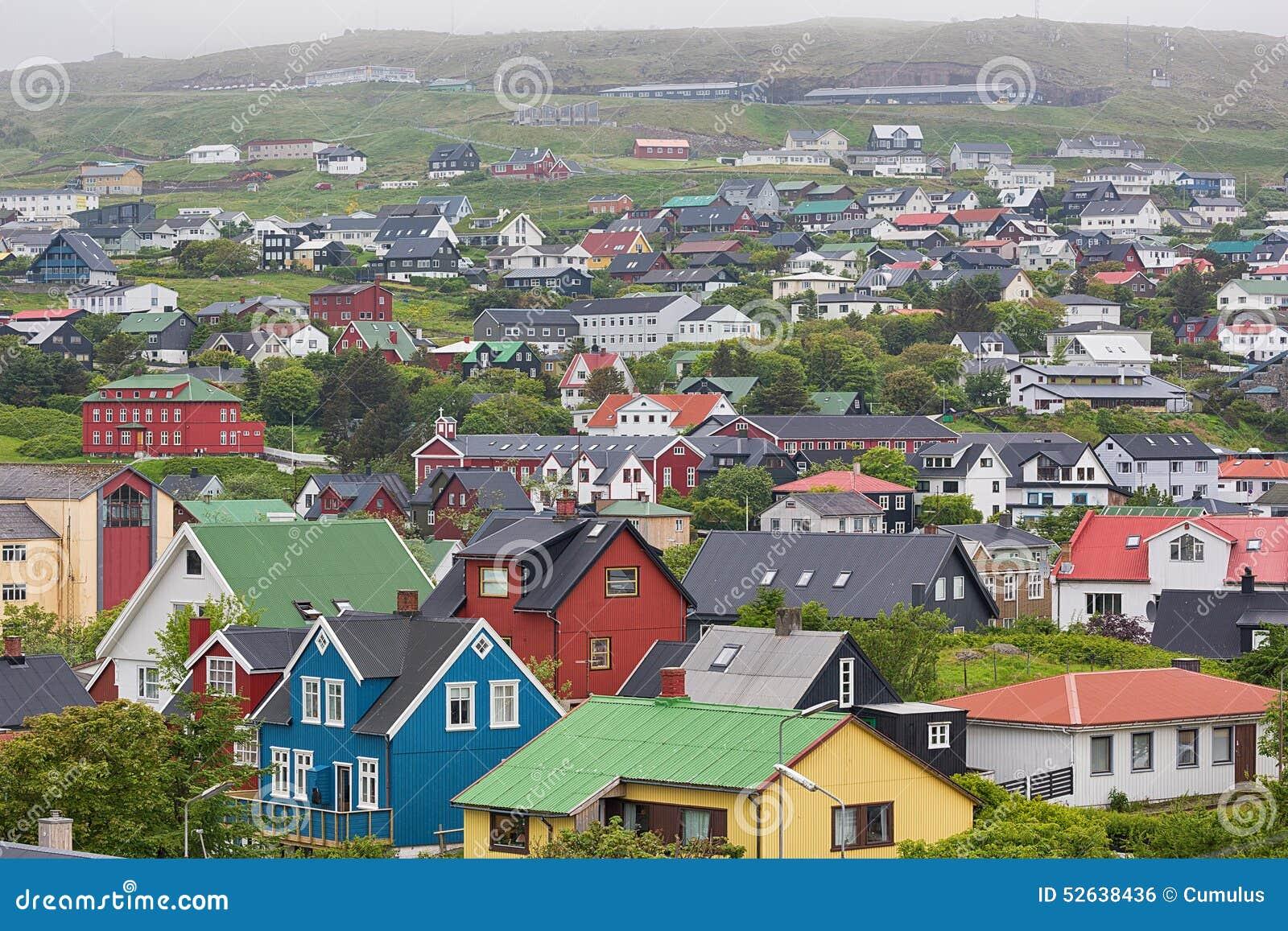 Torshavn, isole faroe