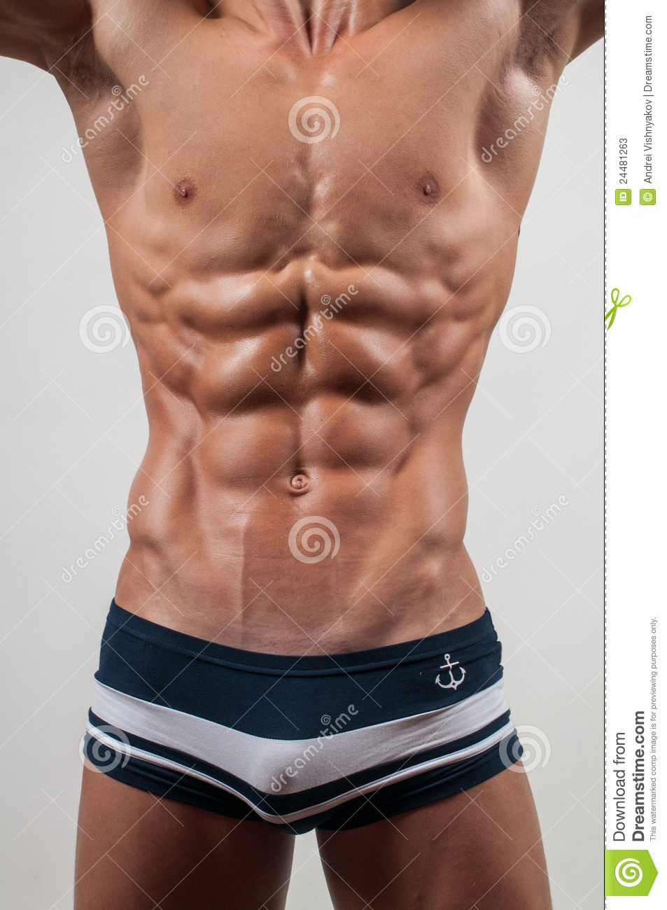 Torso With Six Pack Stock Photos - Image: 24481263
