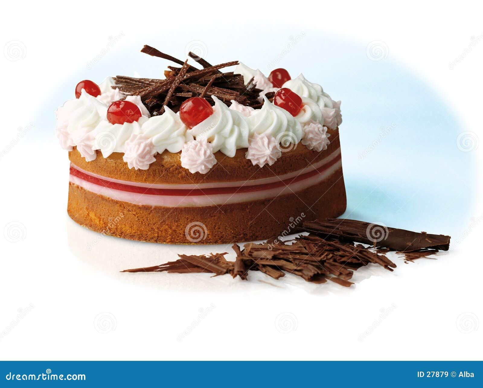 Download Torta imagen de archivo. Imagen de helado, decoración, postre - 27879