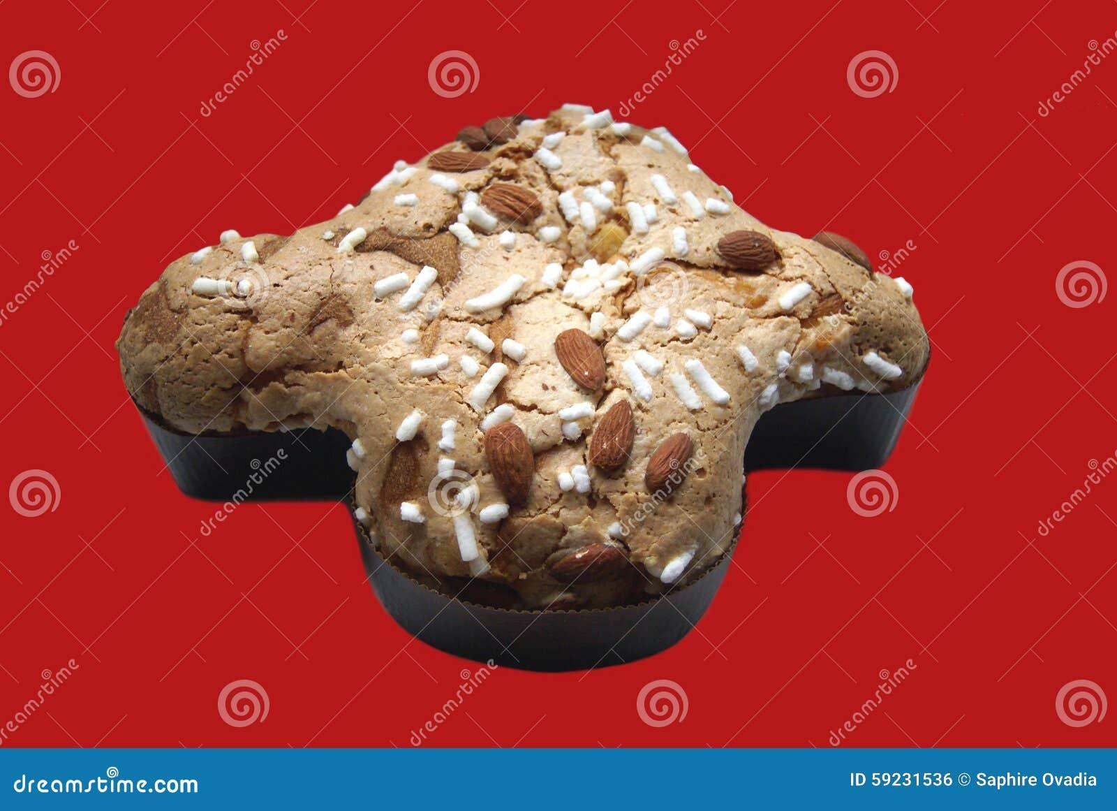 Download Torta Con Las Almendras Y El Azúcar De Formación De Hielo Foto de archivo - Imagen de cafetería, icing: 59231536