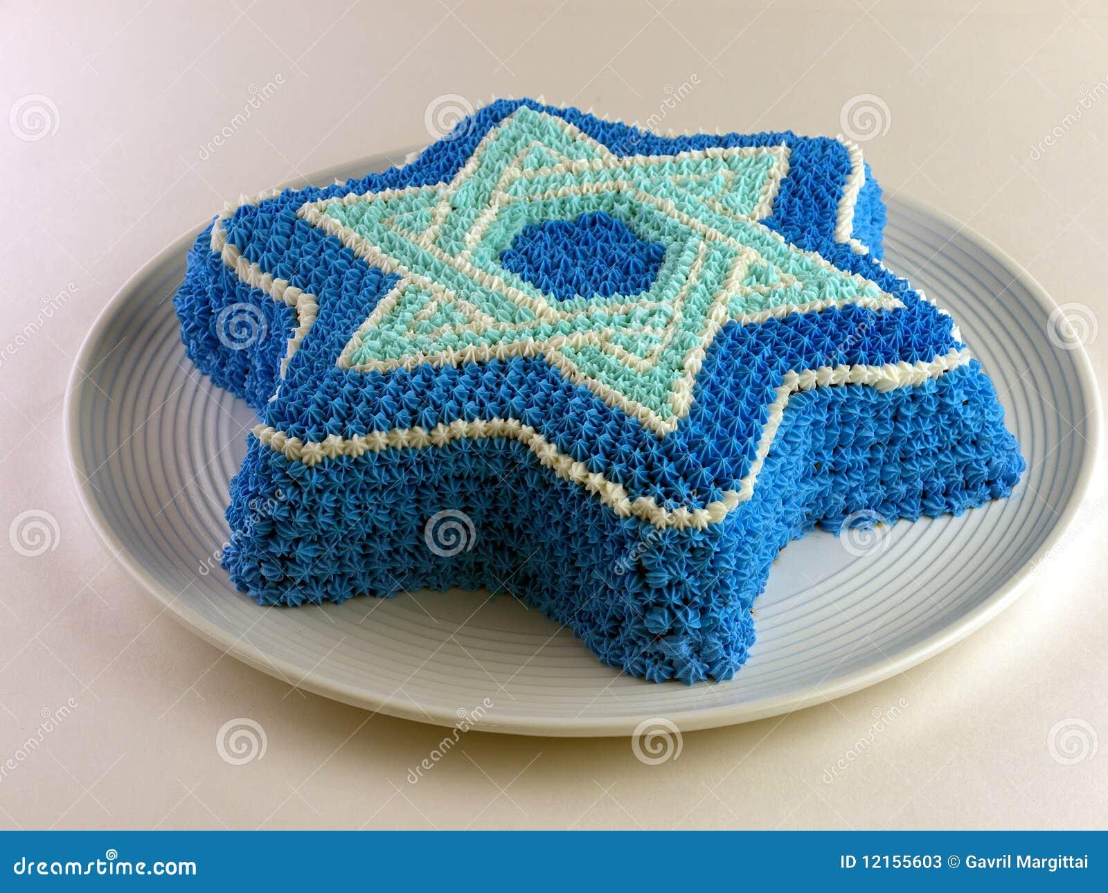 David S  Star Cake