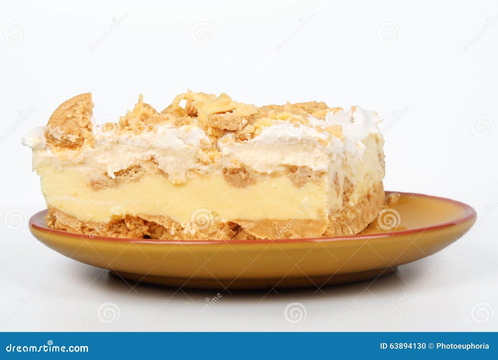 Torta da caixa de gelo do limão