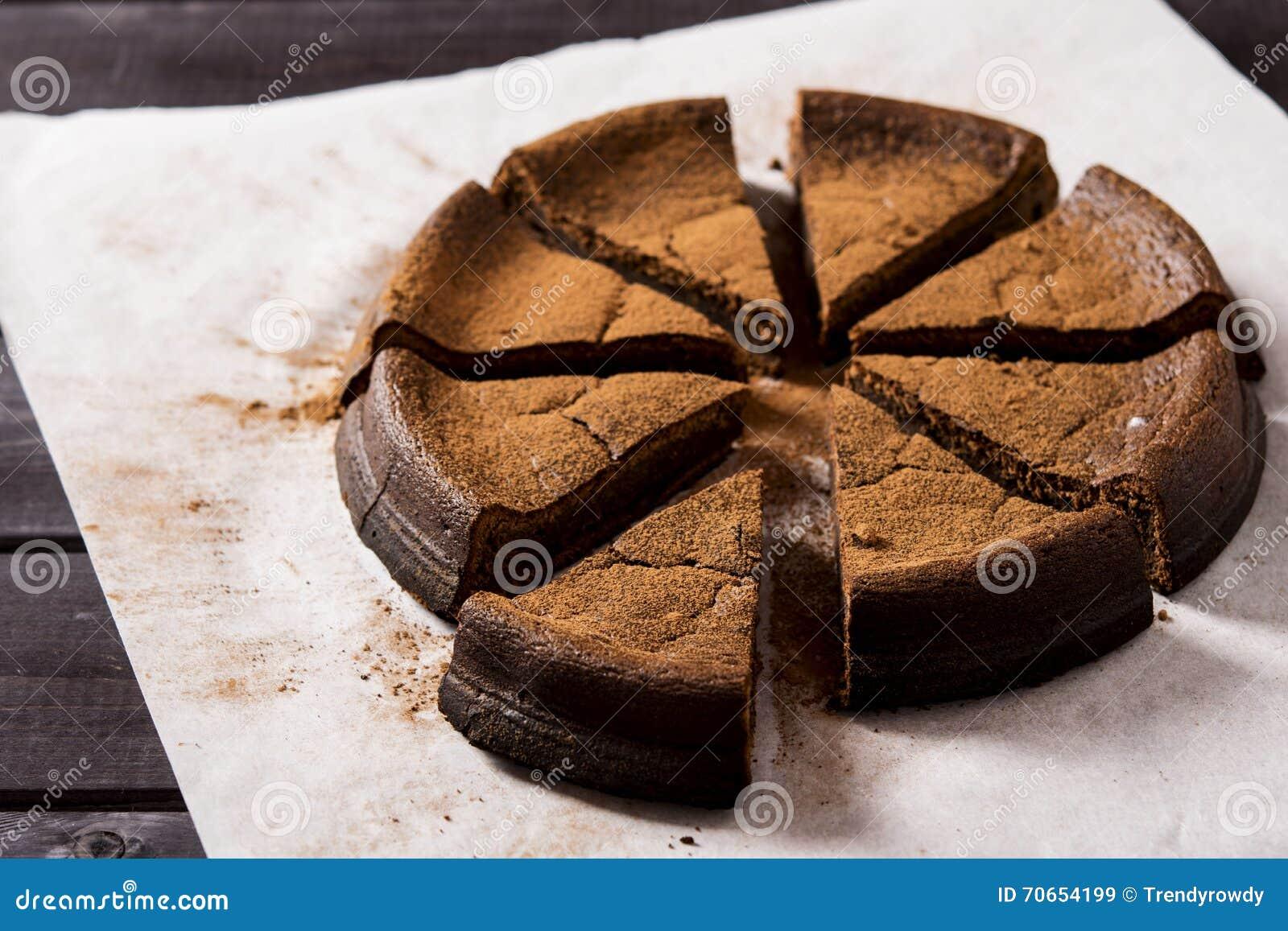 Torta de chocolate con ricotta