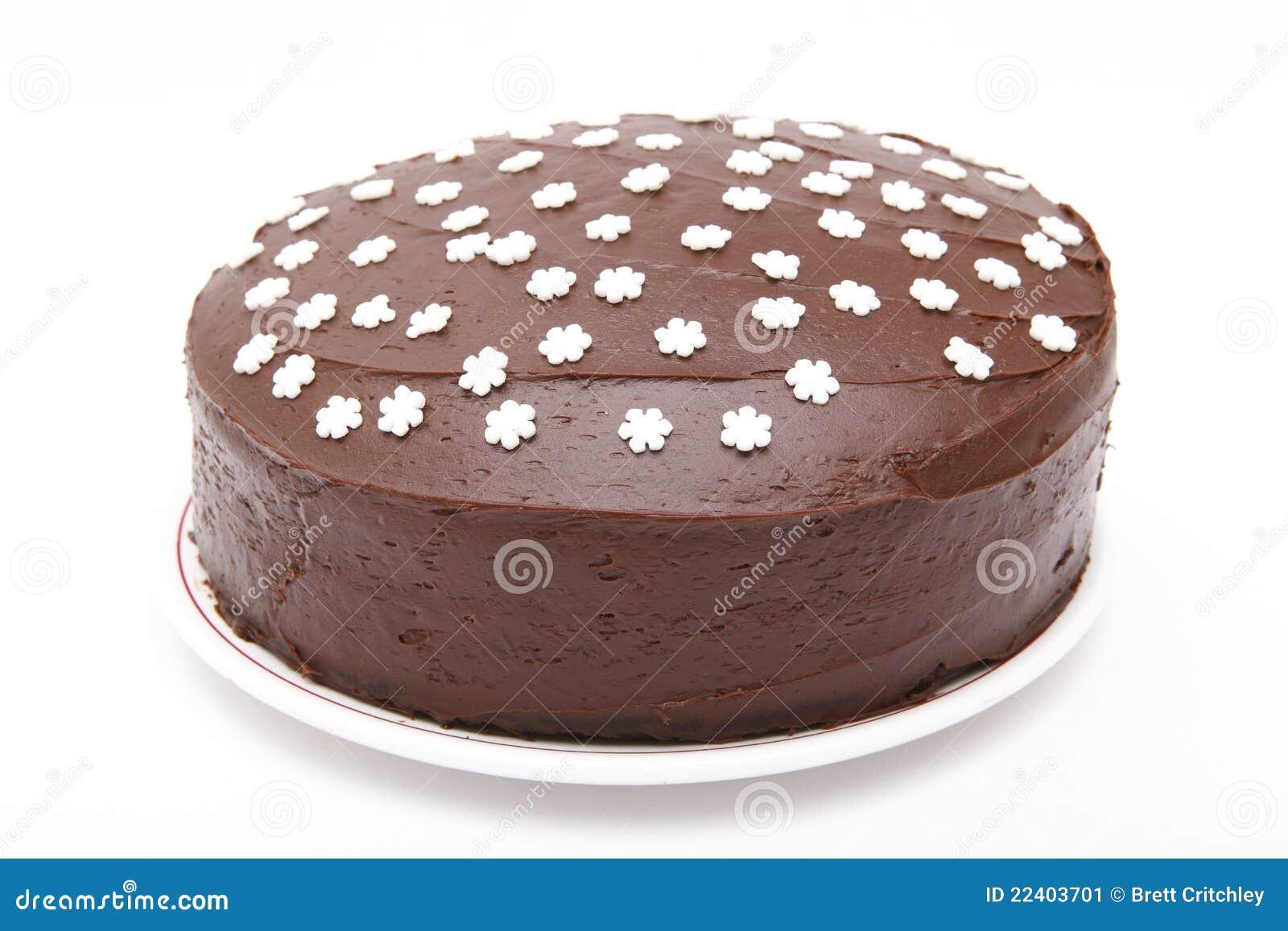 Torta de chocolate hecha en casa