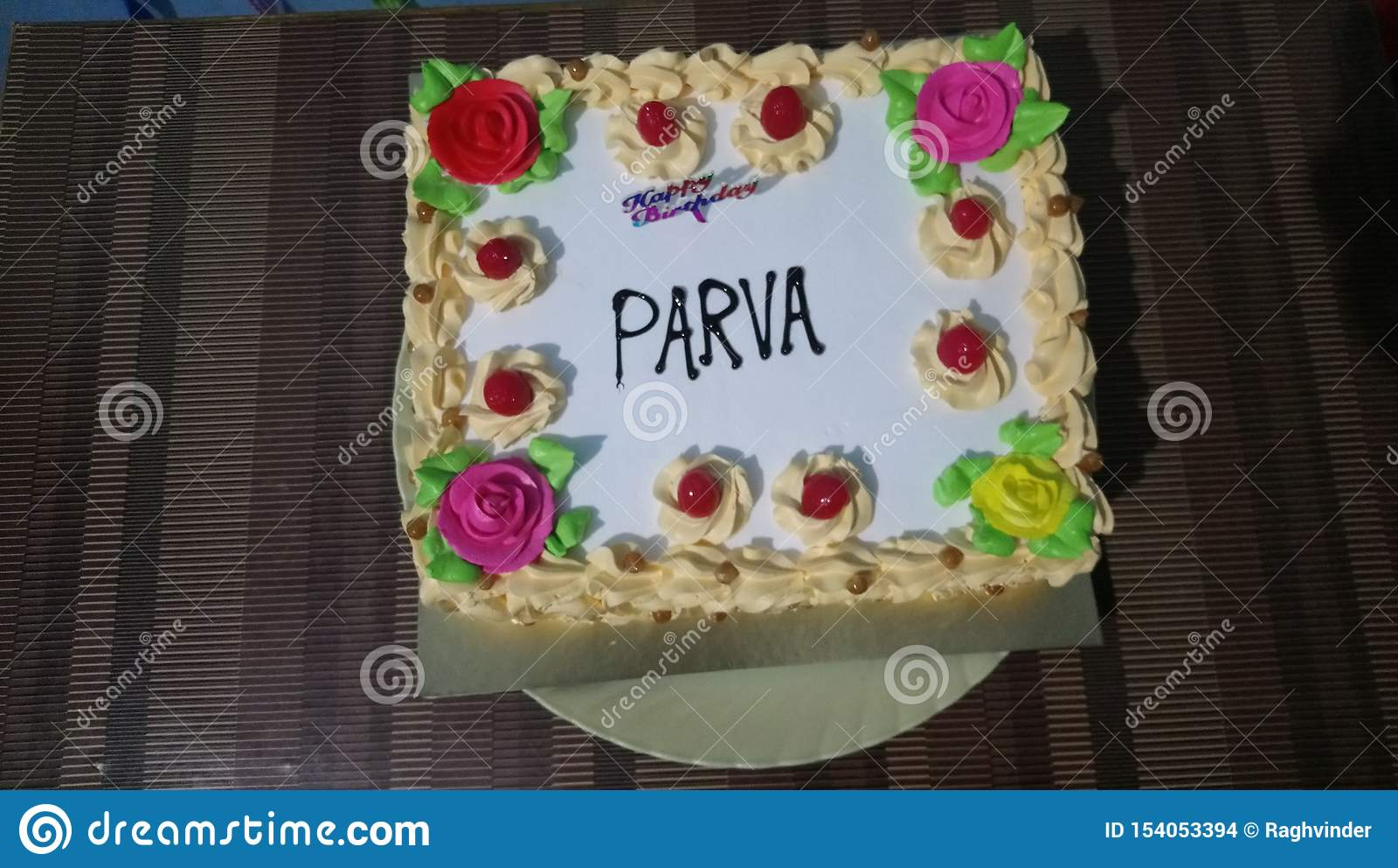 Torta de cumpleaños para la niña y el muchacho