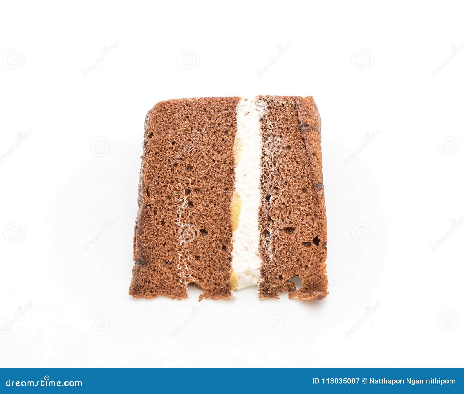Torta de gasa del chocolate