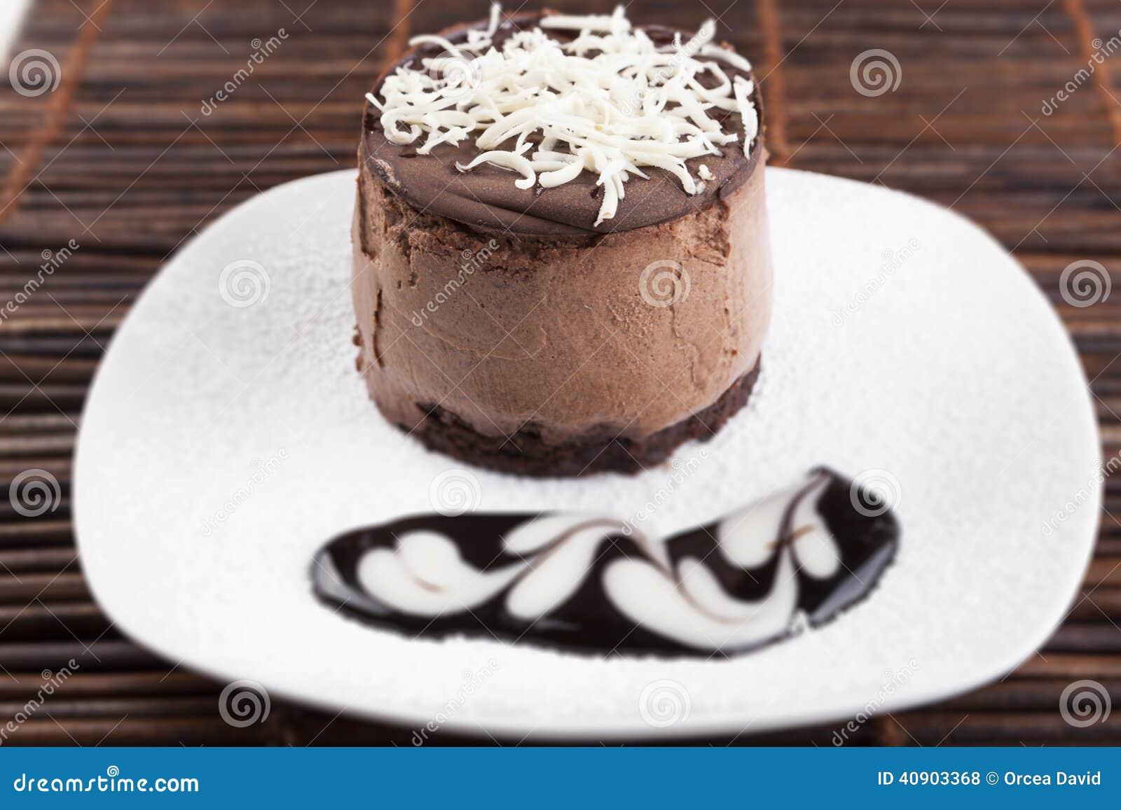 Torta de la crema batida