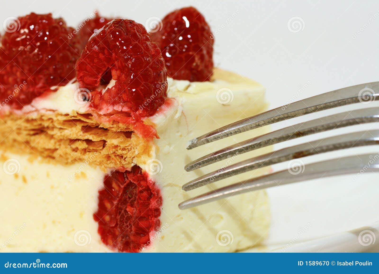 Torta de la frambuesa