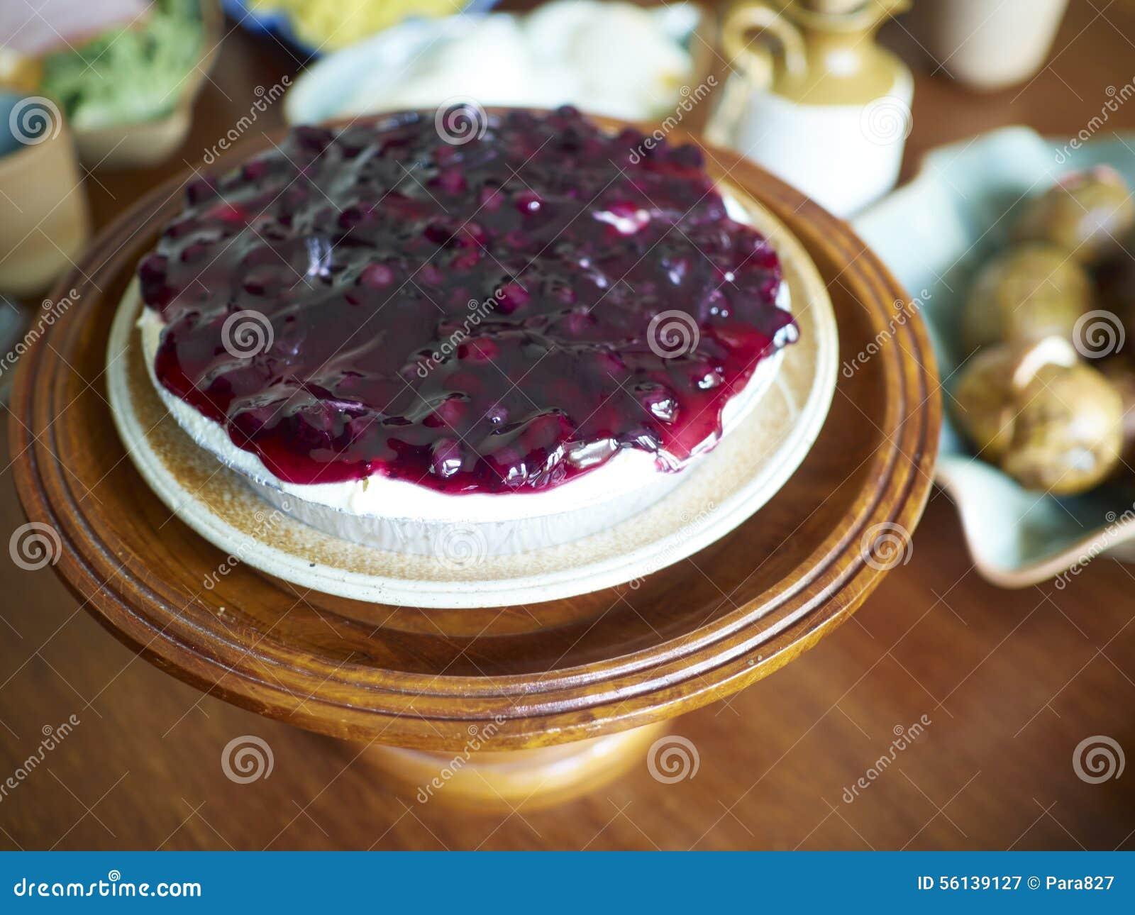Torta de uva-do-monte