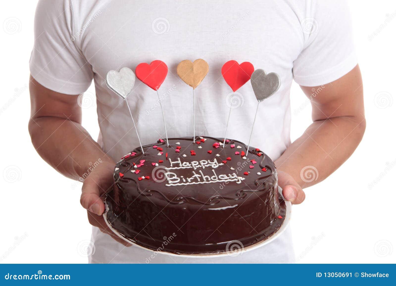 Eccezionale Torta di buon compleanno immagine stock. Immagine di celebrazione  DO95