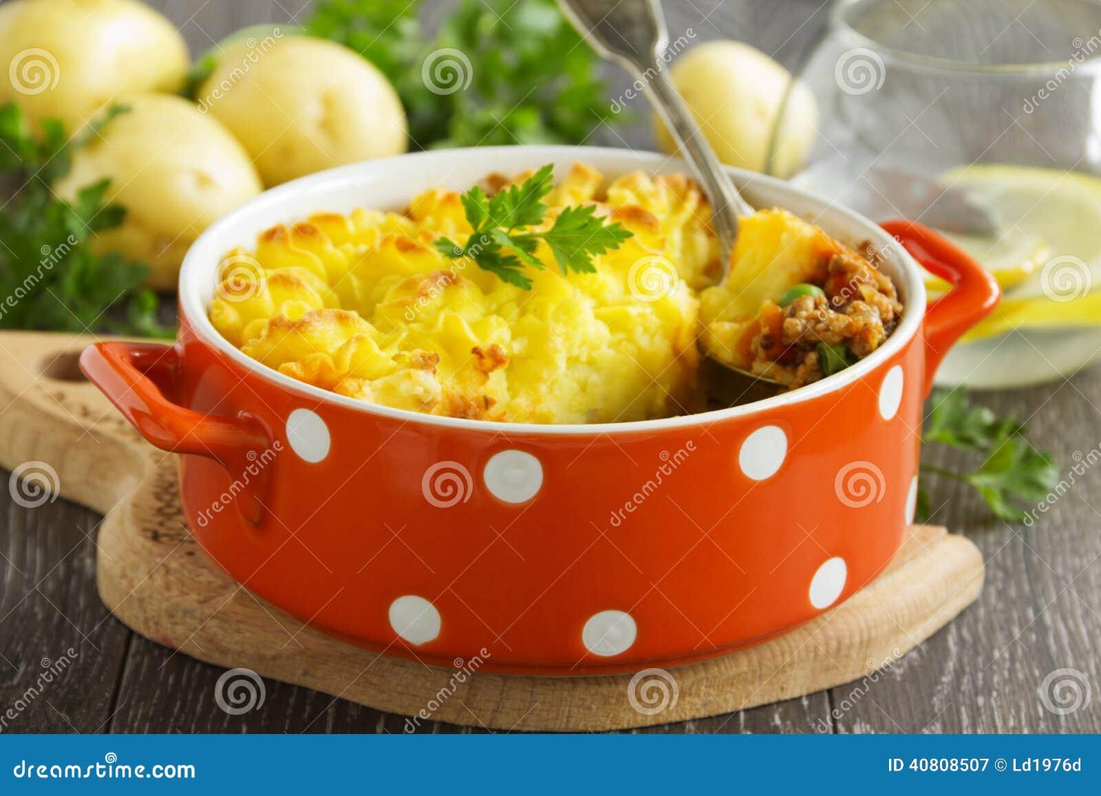 Torta Di Carne, Cucina Inglese Immagine Stock - Immagine di cuisine ...