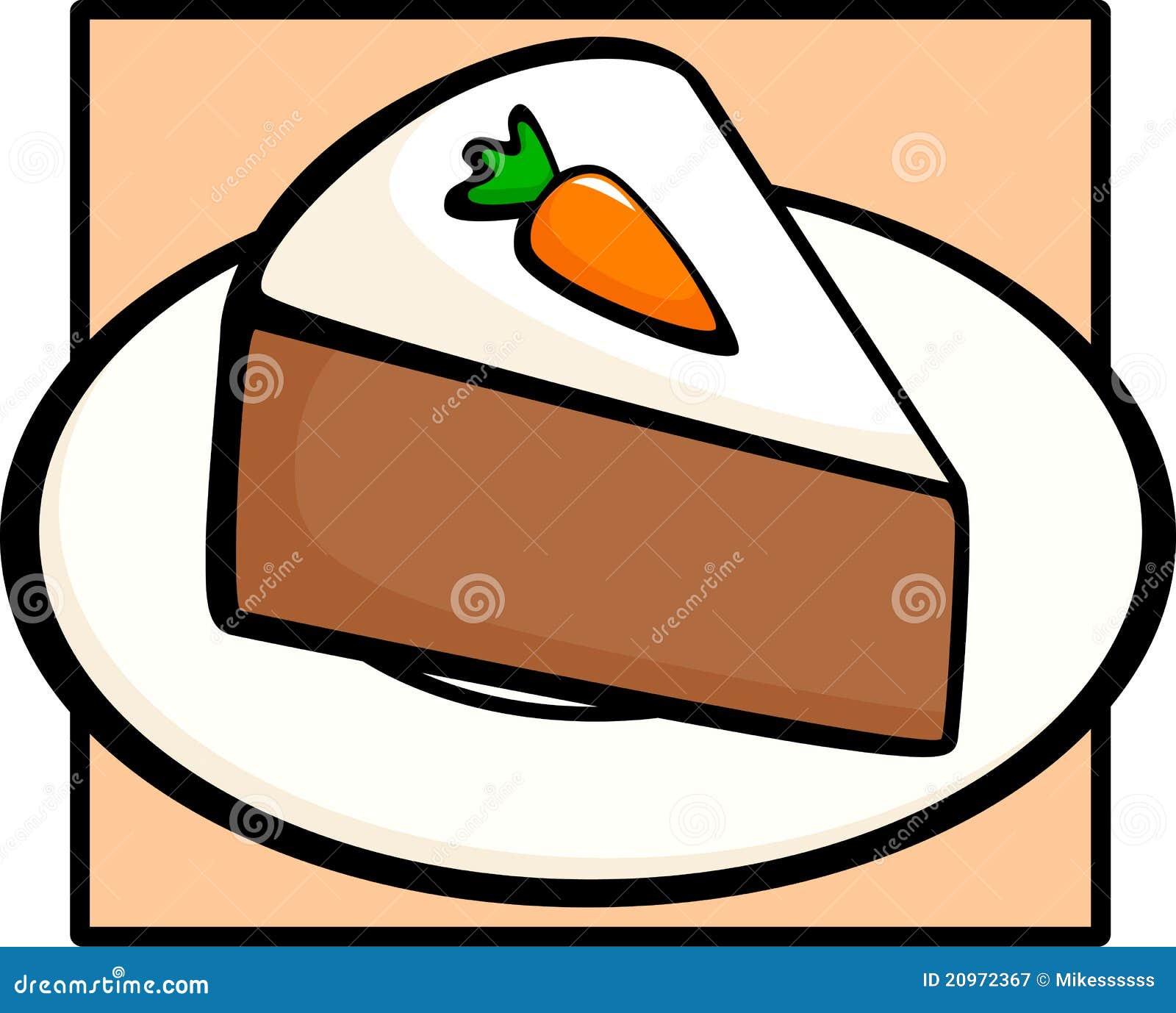 Carrots Cake Clipart