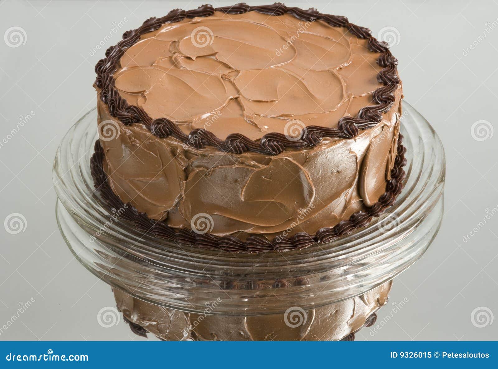 Torta di cioccolato casalinga