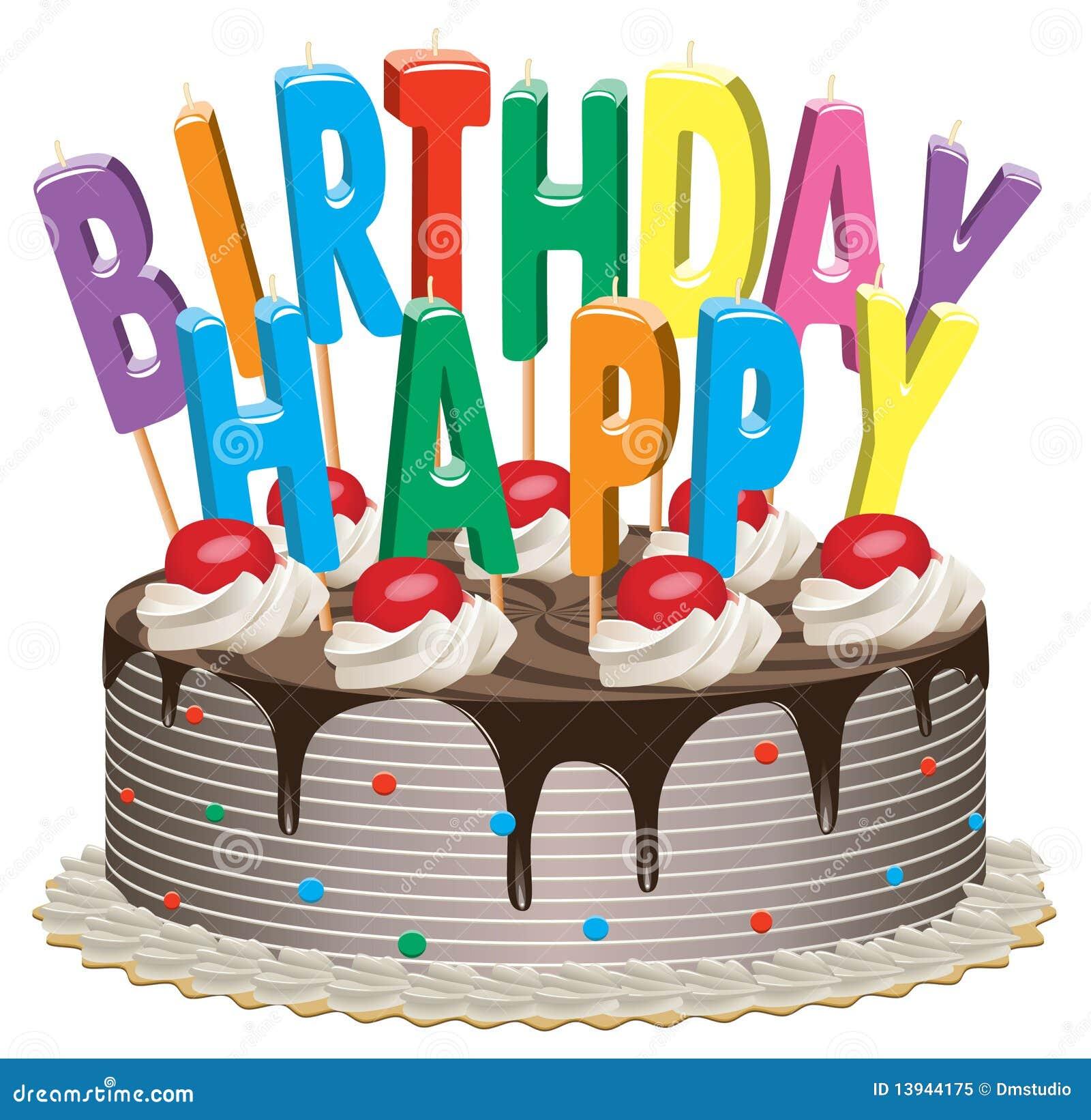 Top Torta di compleanno illustrazione vettoriale. Illustrazione di  OX47