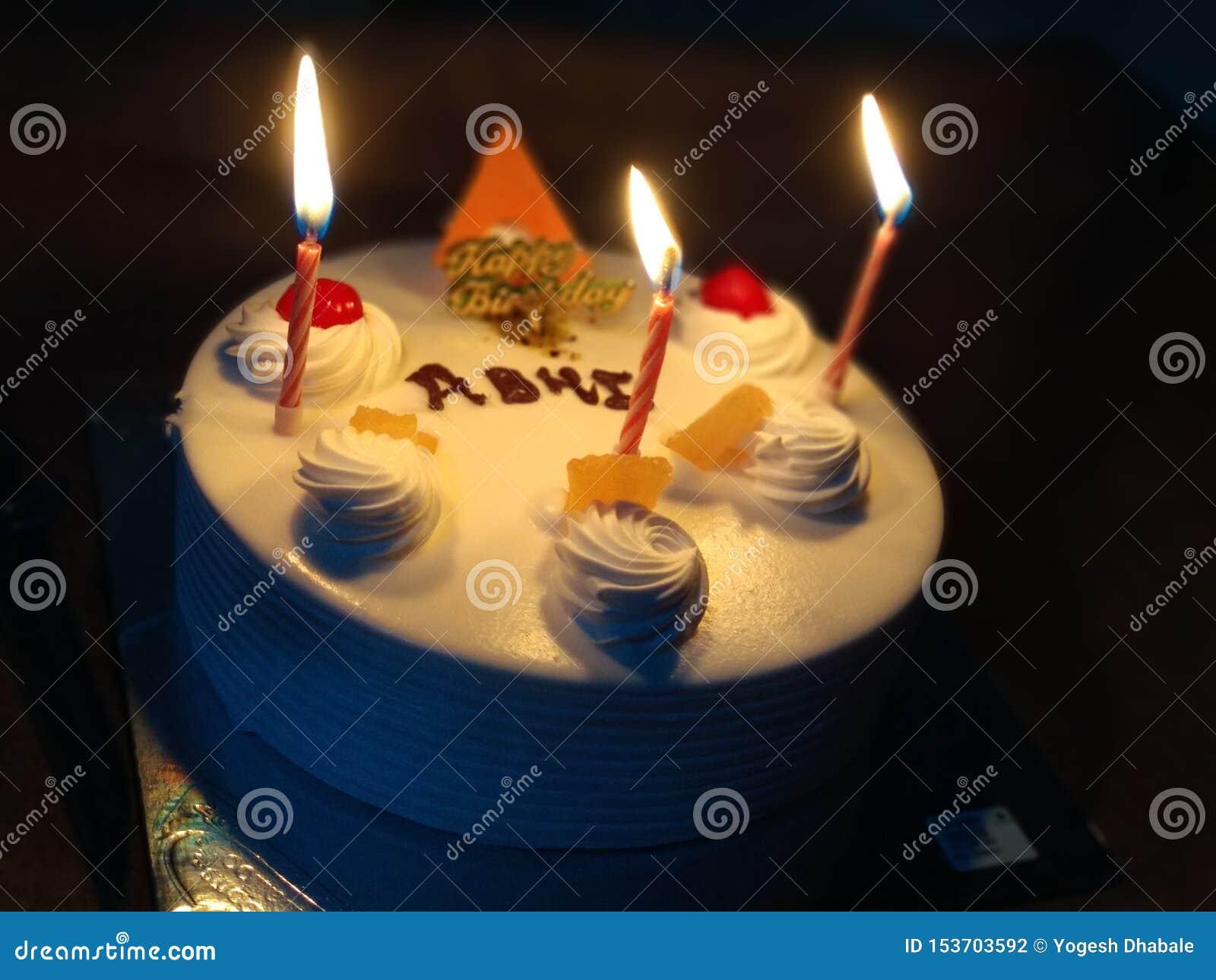 Torta di compleanno indiana