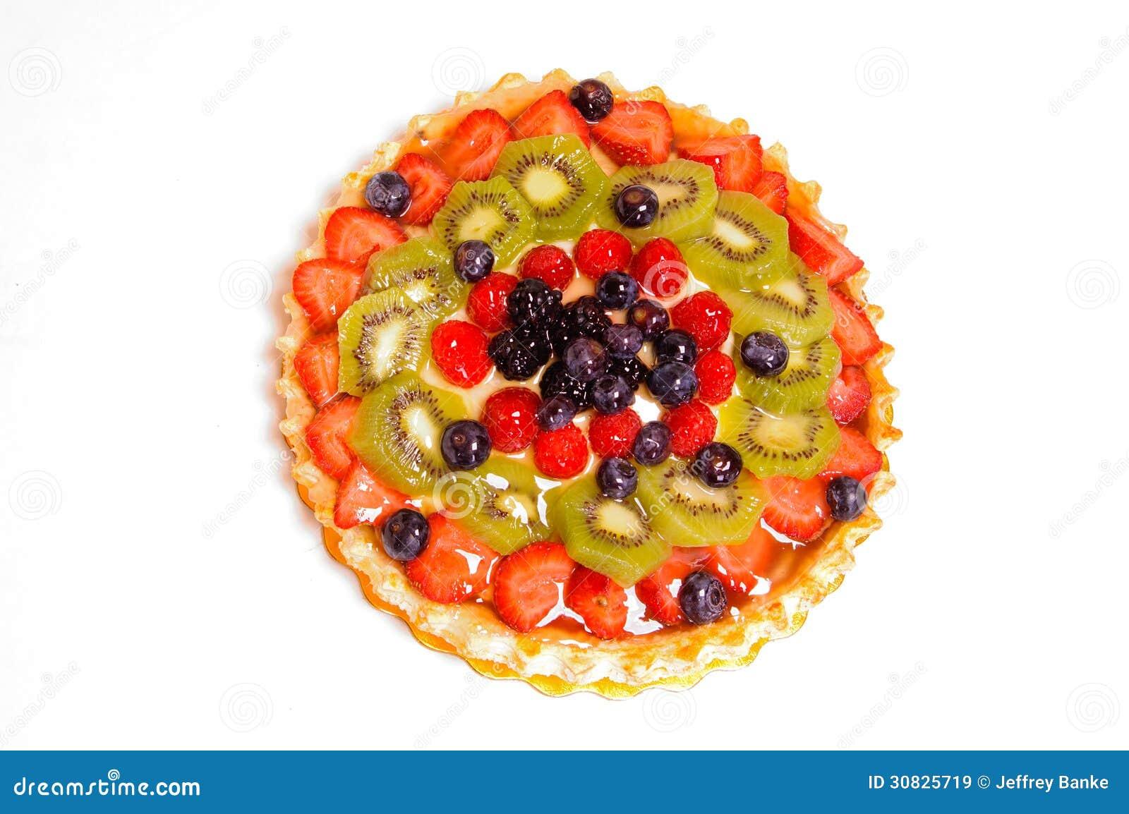 Torta di frutta mista