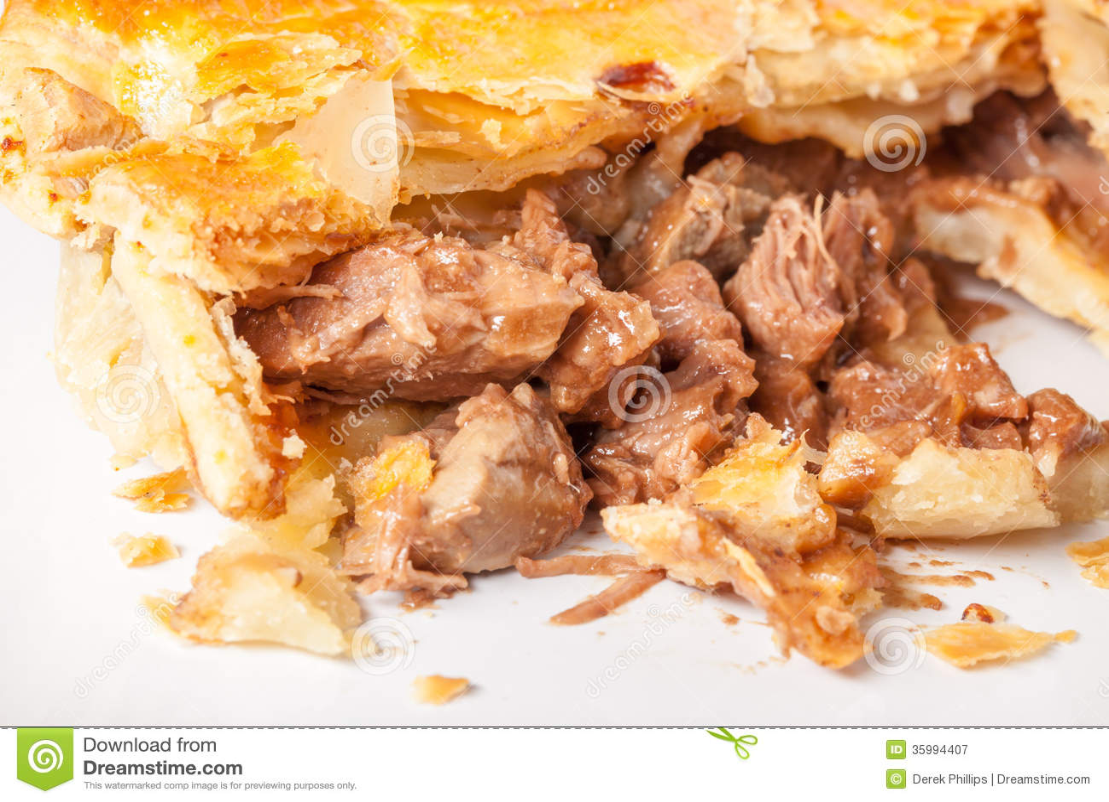 Torta di rene e della bistecca