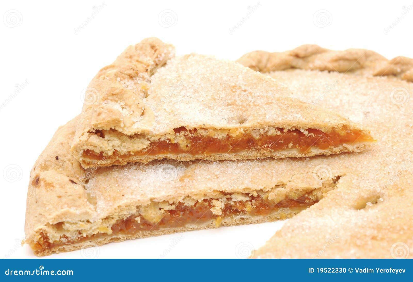 Torta doce dos alperces
