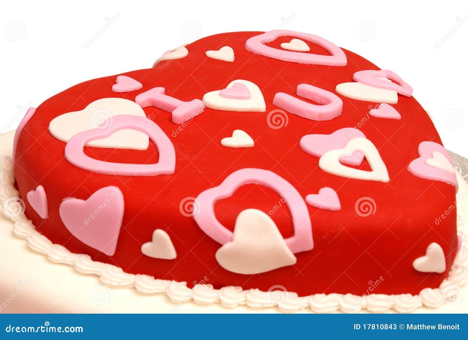 Torta A Forma Di Cuore Immagine Stock Immagine Di Shaped 17810843