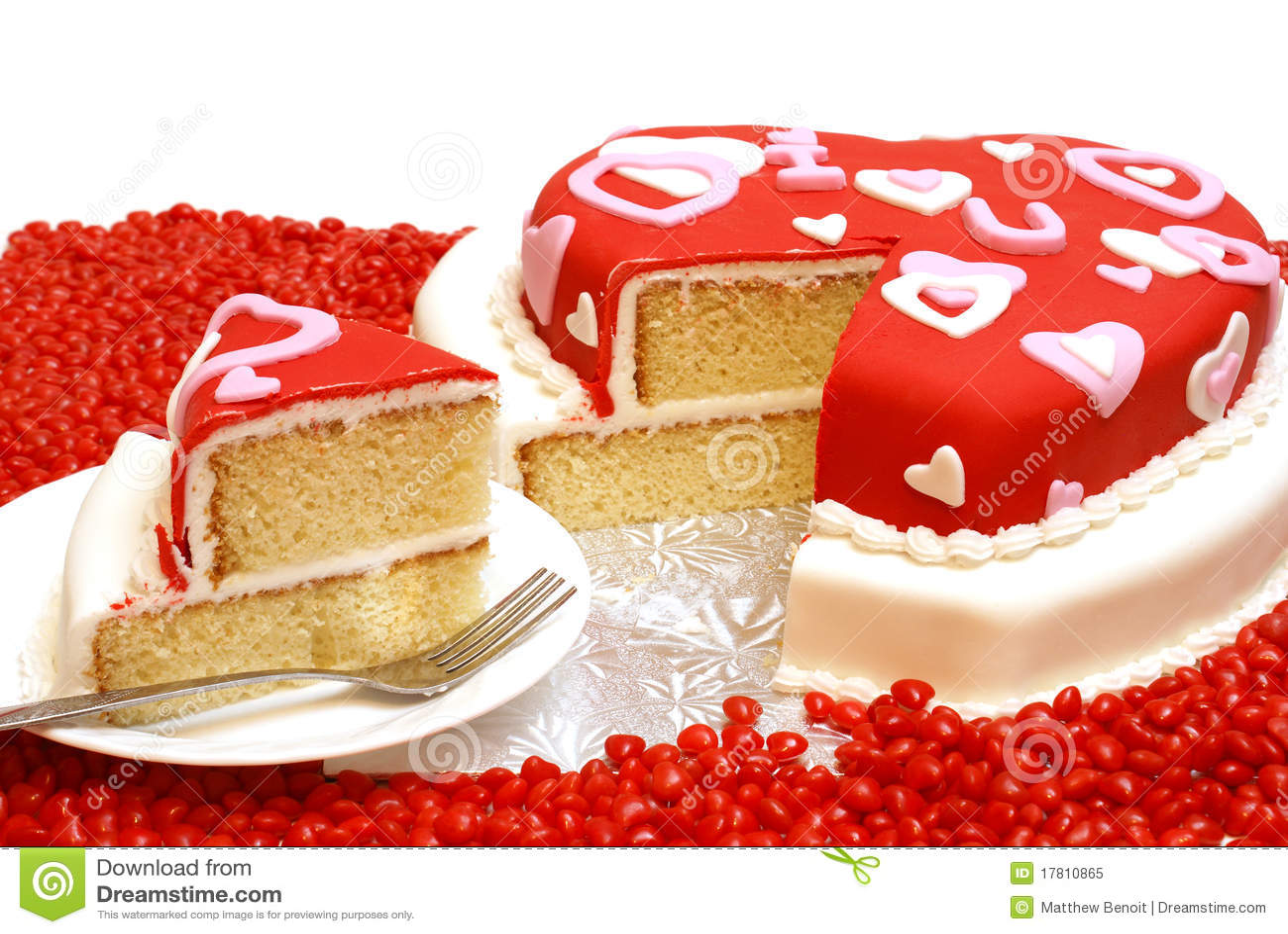 Torta A Forma Di Cuore Immagine Stock Immagine Di Casalingo 17810865