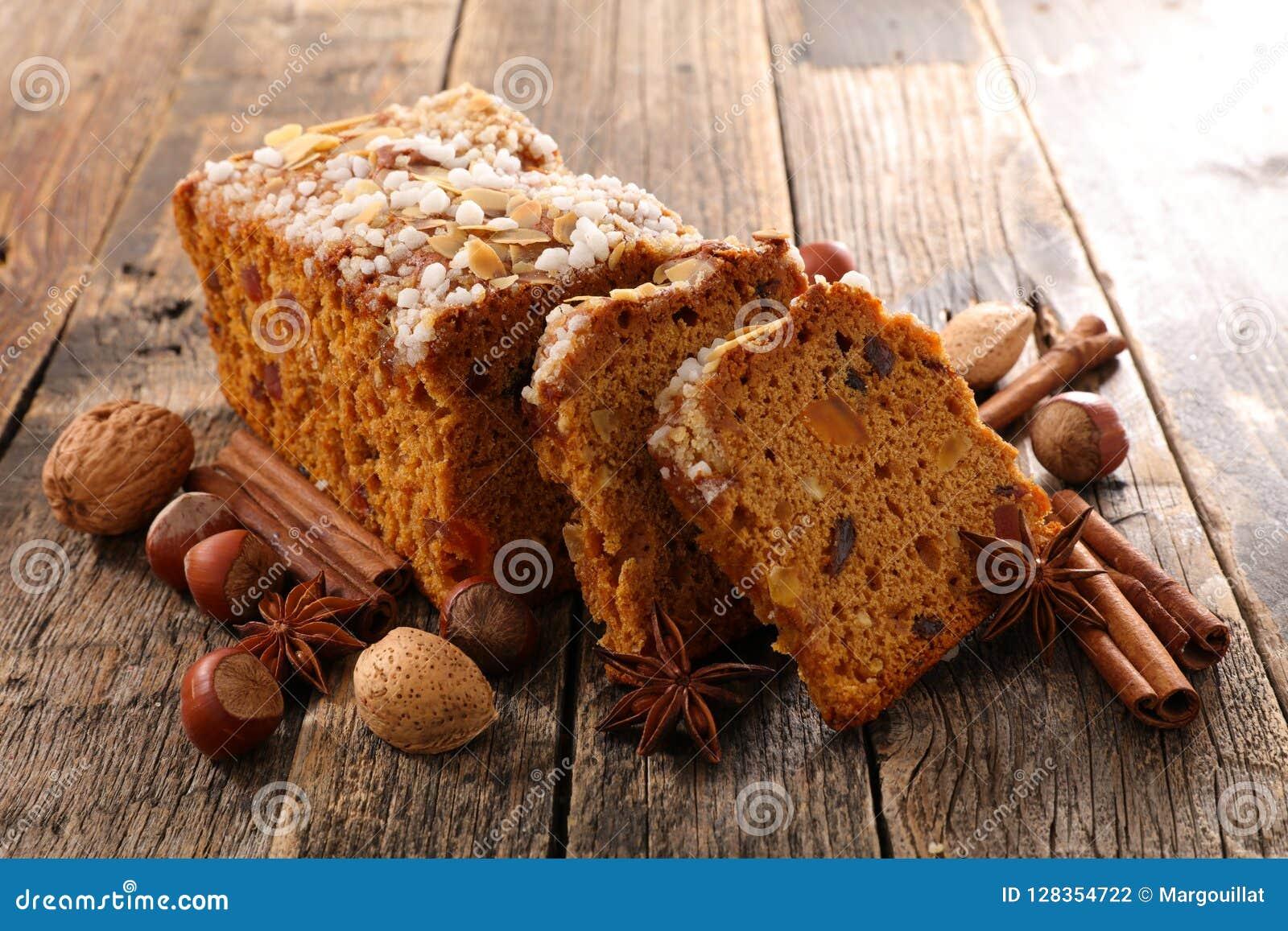Torta y especia del pan de jengibre