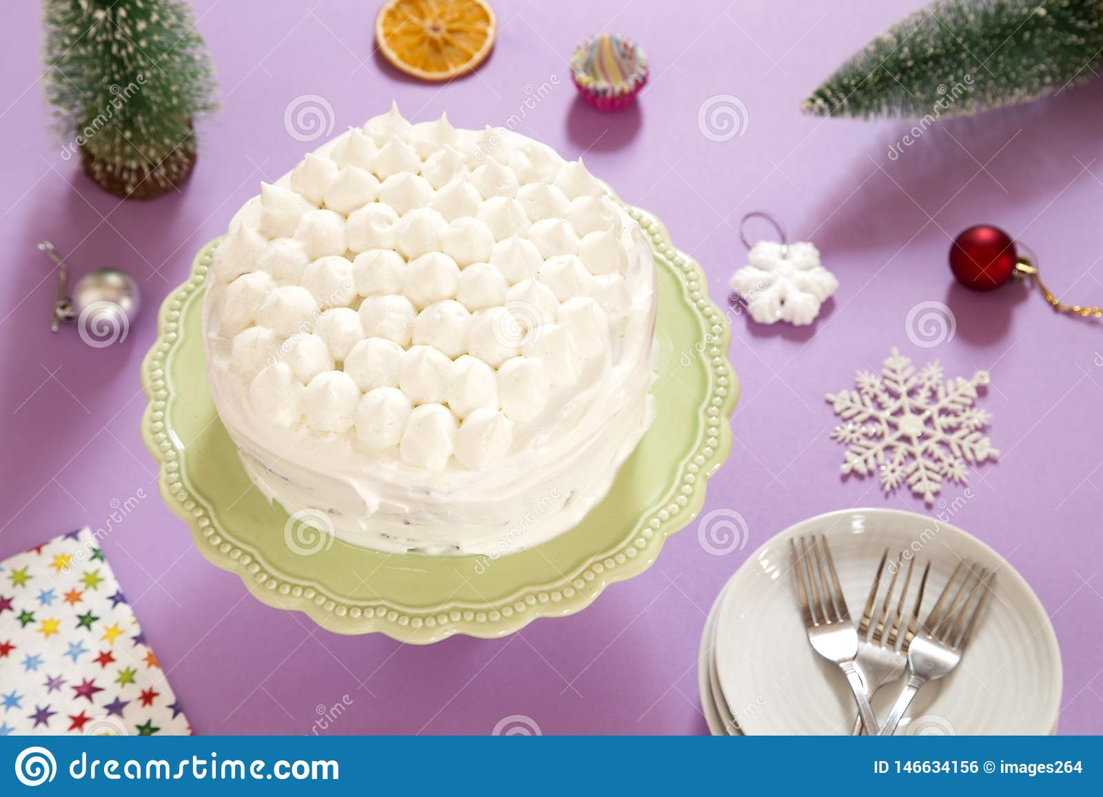 Torte met room
