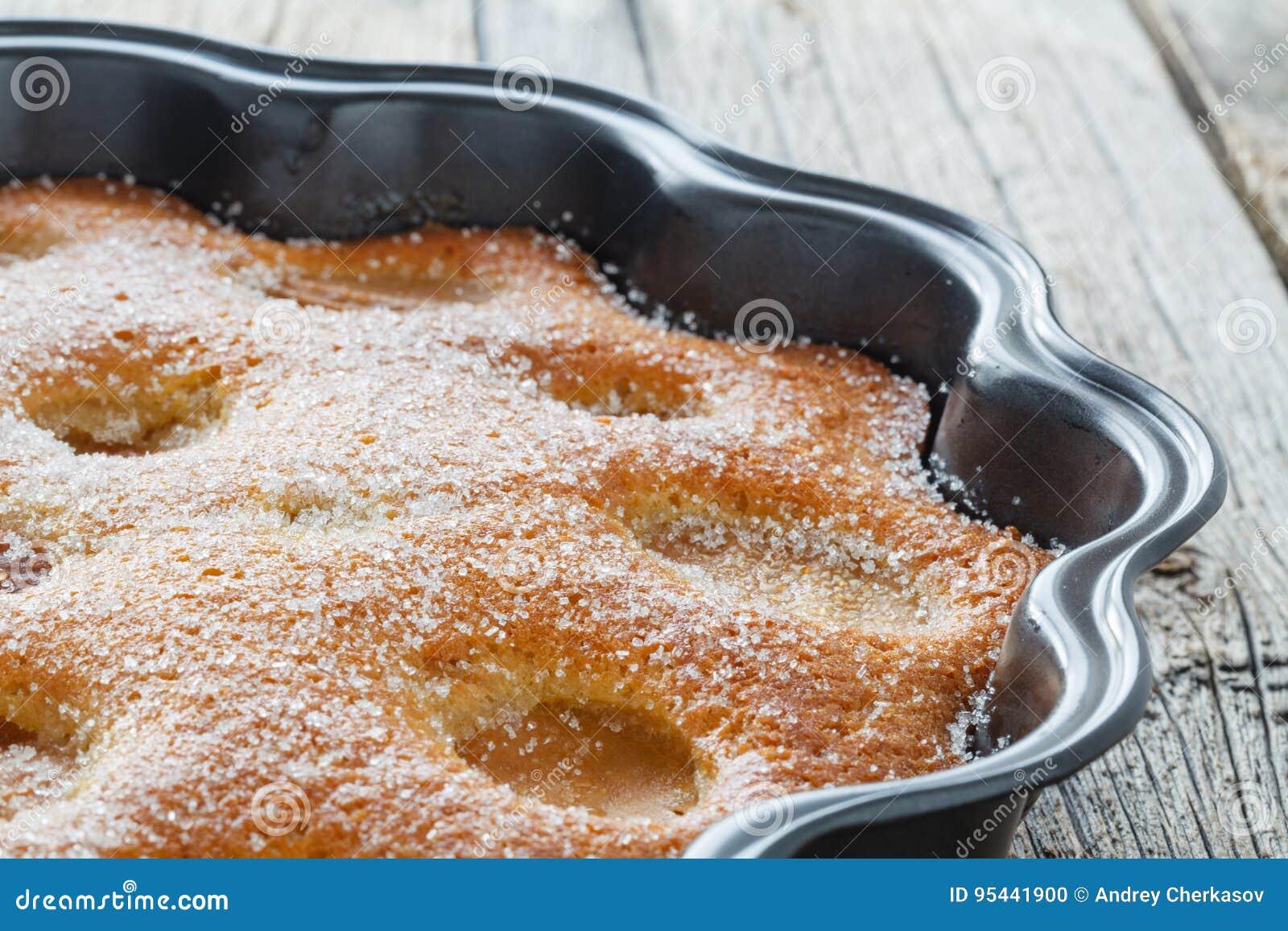 Torte mit Aprikosen