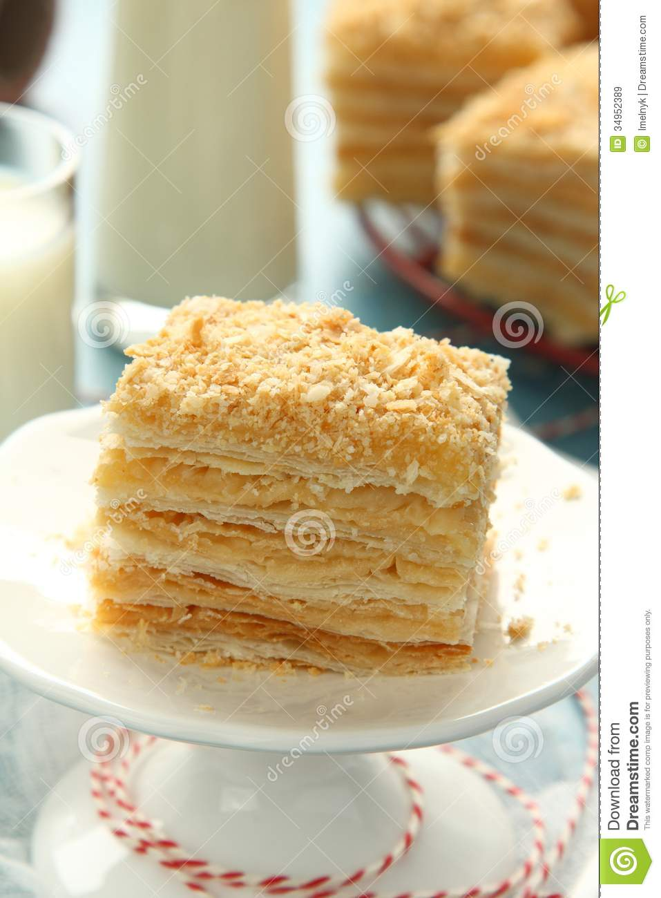 Layer Cake With Pudding