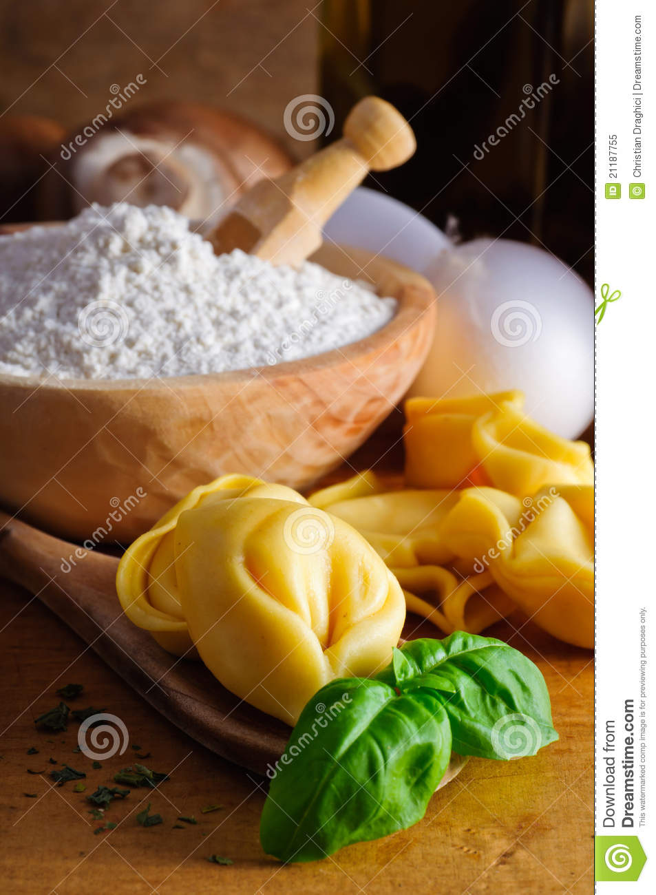 Tortellini ingredients