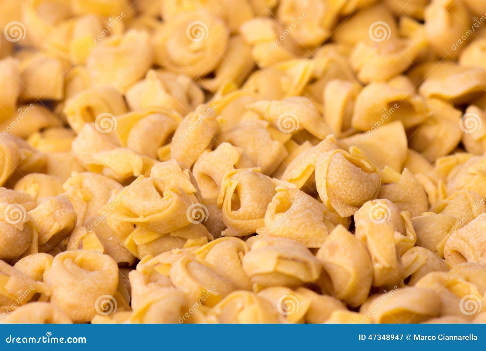 Tortellini italienska pastas